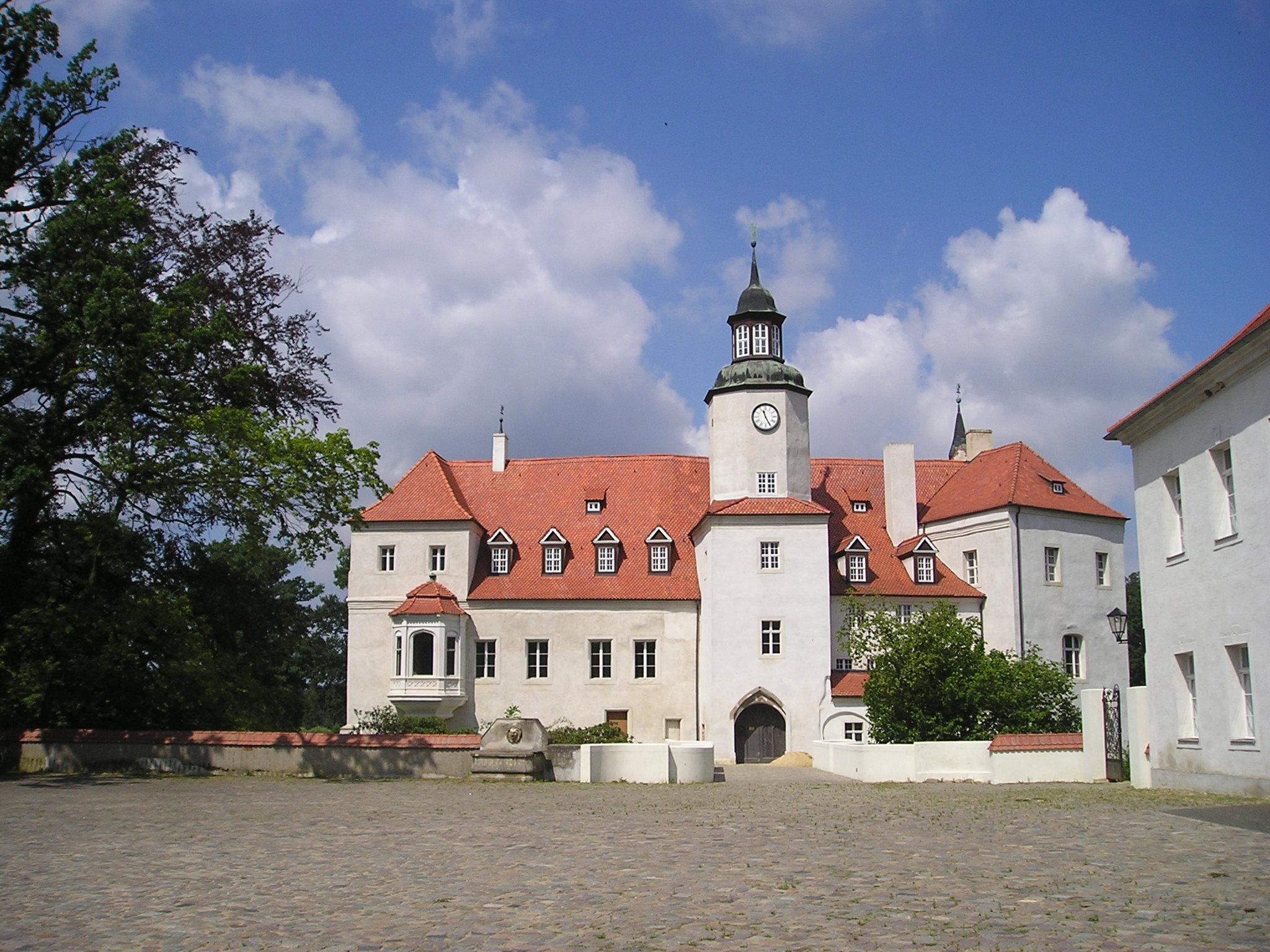 Von der Deutschen Stiftung Denkmalschutz saniert und nun ein Hotel: Schloss Fürstlich Drehna, Foto: D.Weirauch