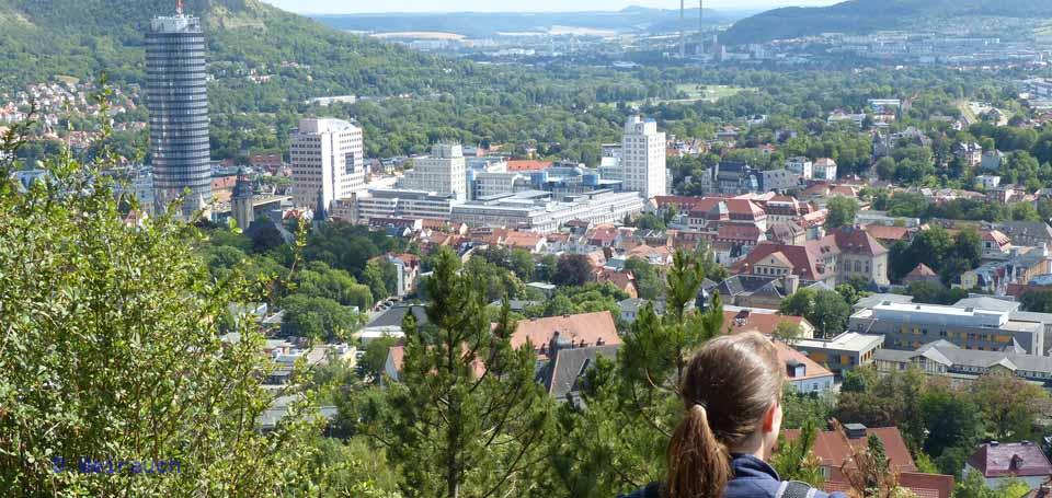Blick auf Jena, Foto: Weirauch