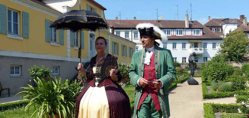 Die Rokoko-Festspiele ziehen jährlich viele Besucher an, Foto: D.Weirauch