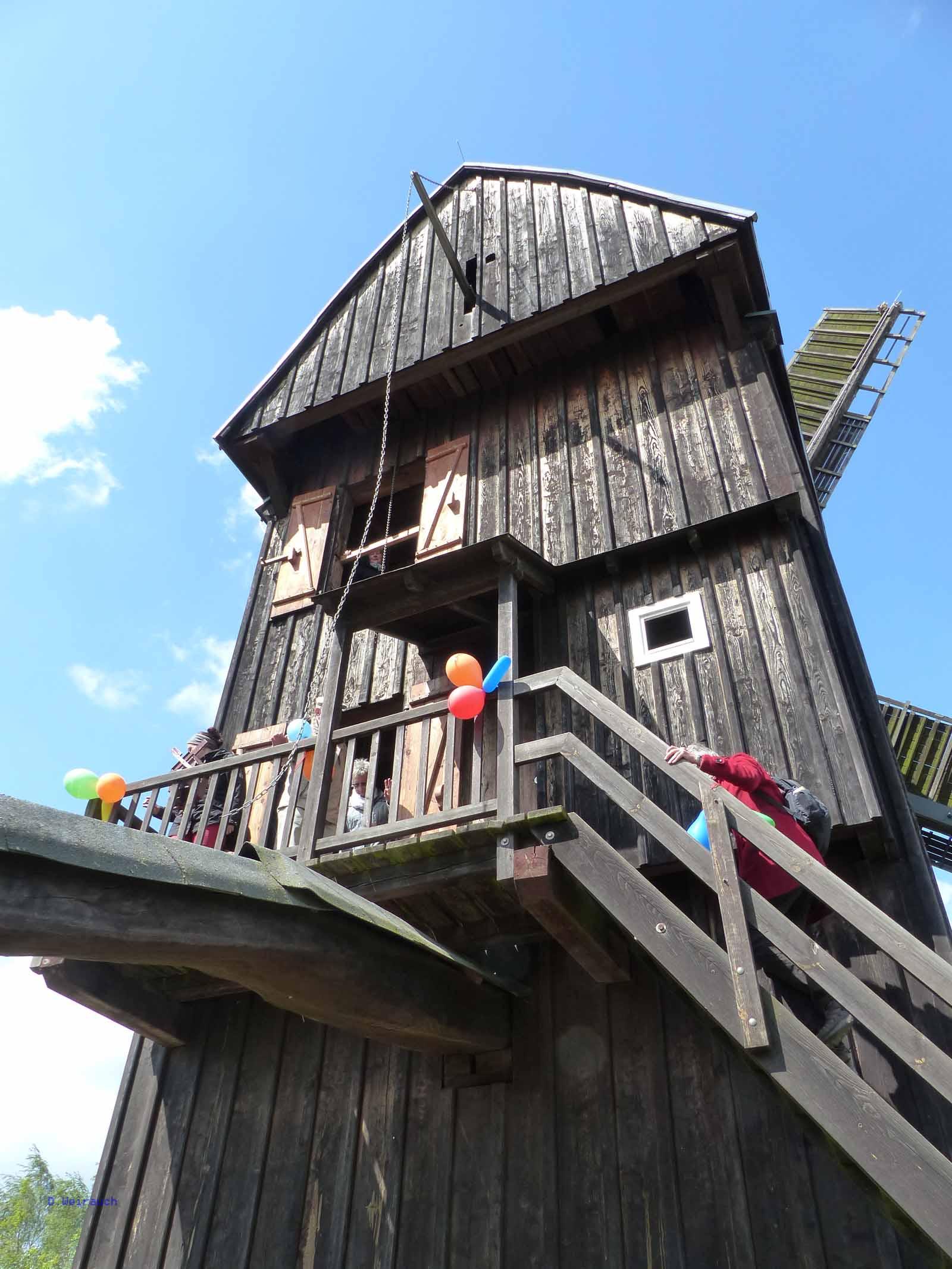 Bockwindmühle in Cammer bei Bad Belzig