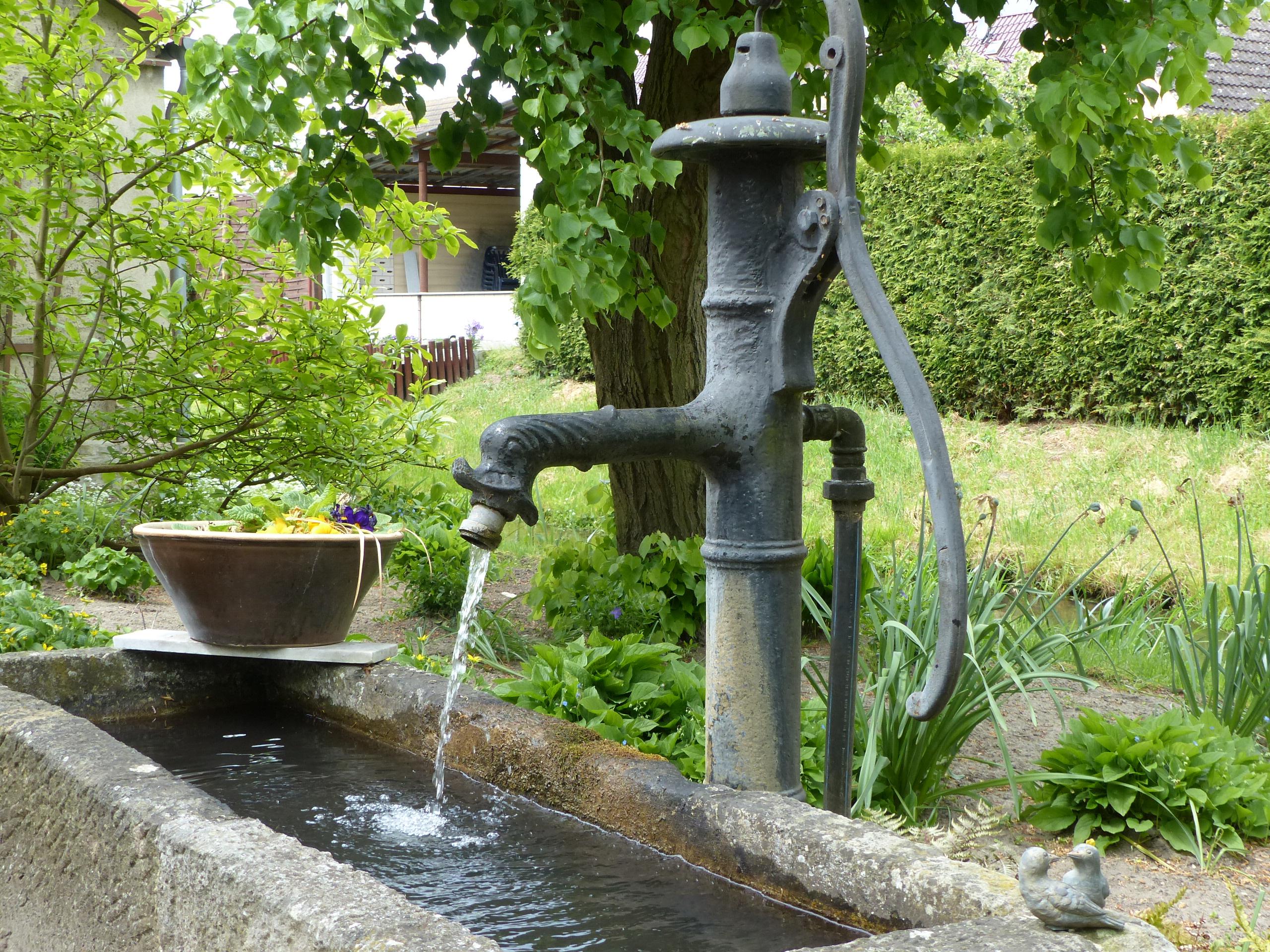 Idylle im Garten Mühle in Fredersdorf im Fläming, Foto: D.Weirauch
