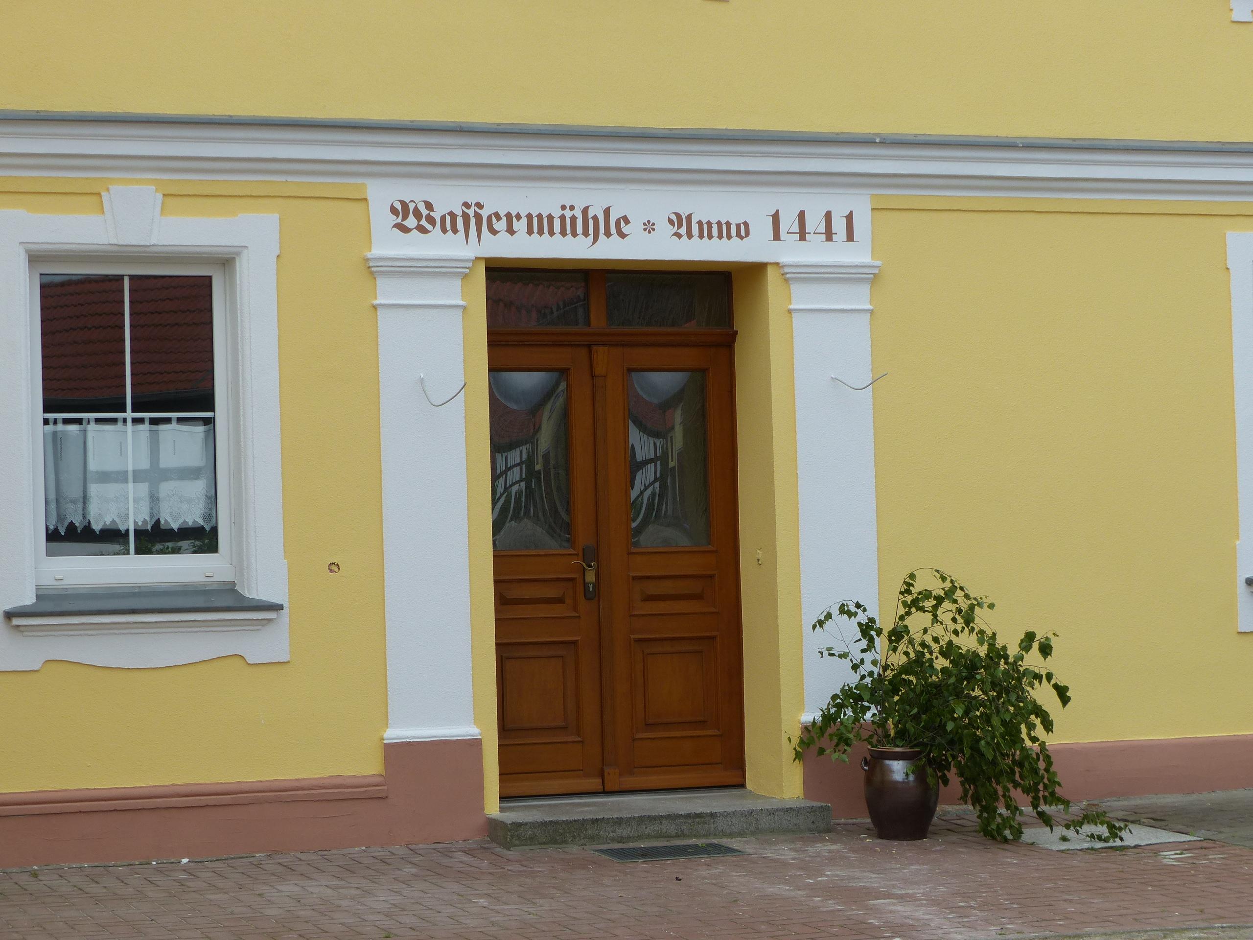 Mühlengebäude in Fredersdorf im Fläming, Foto: D.Weirauch