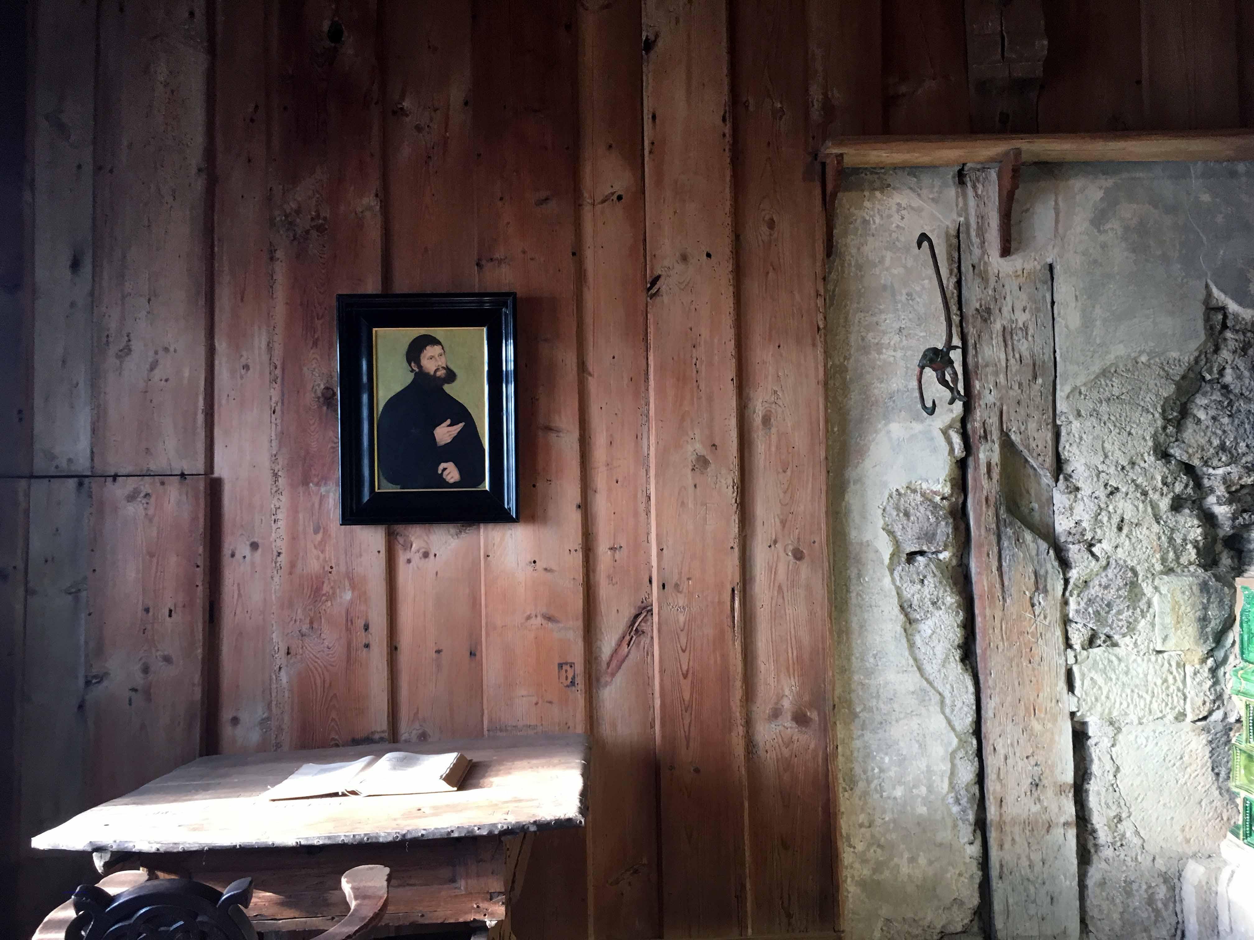 Hier übersetzte Luther das Neue Testament, Foto: D.Weirauch