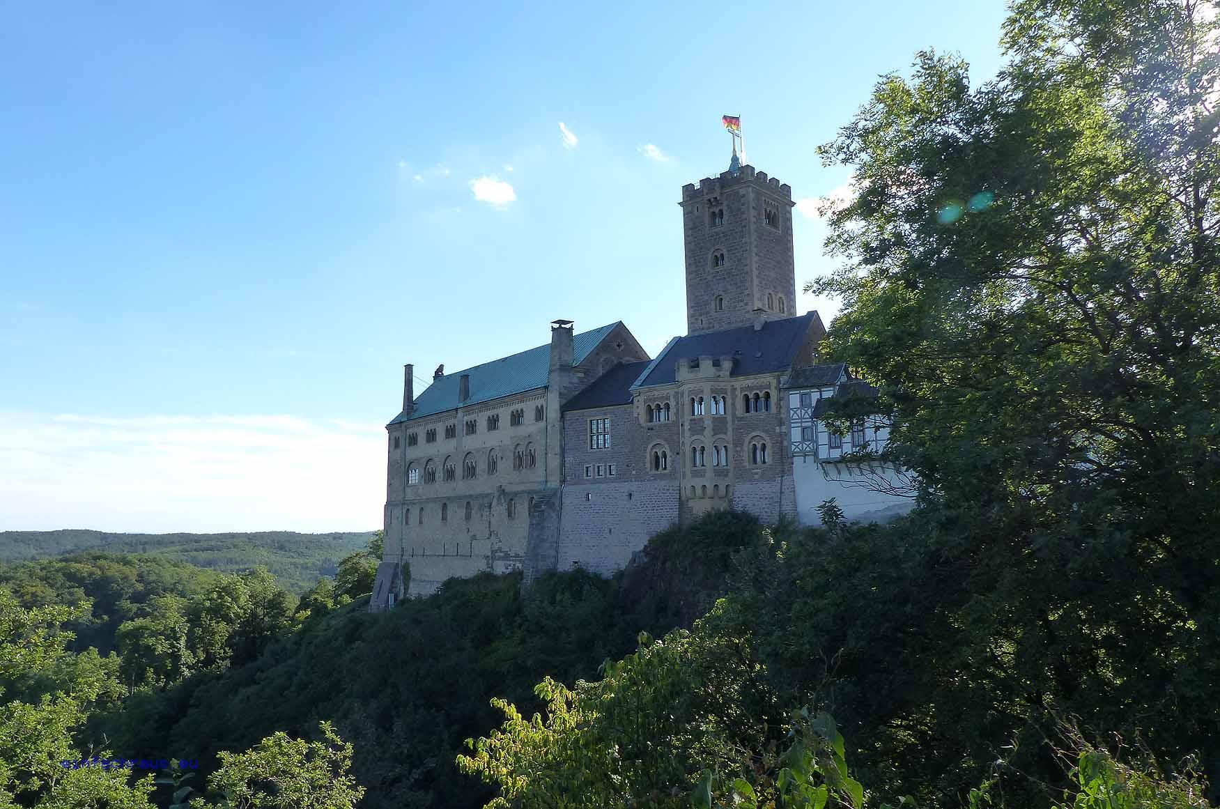 Die Wartburg - Essenz deutscher Geschichte, Foto: D.Weirauch