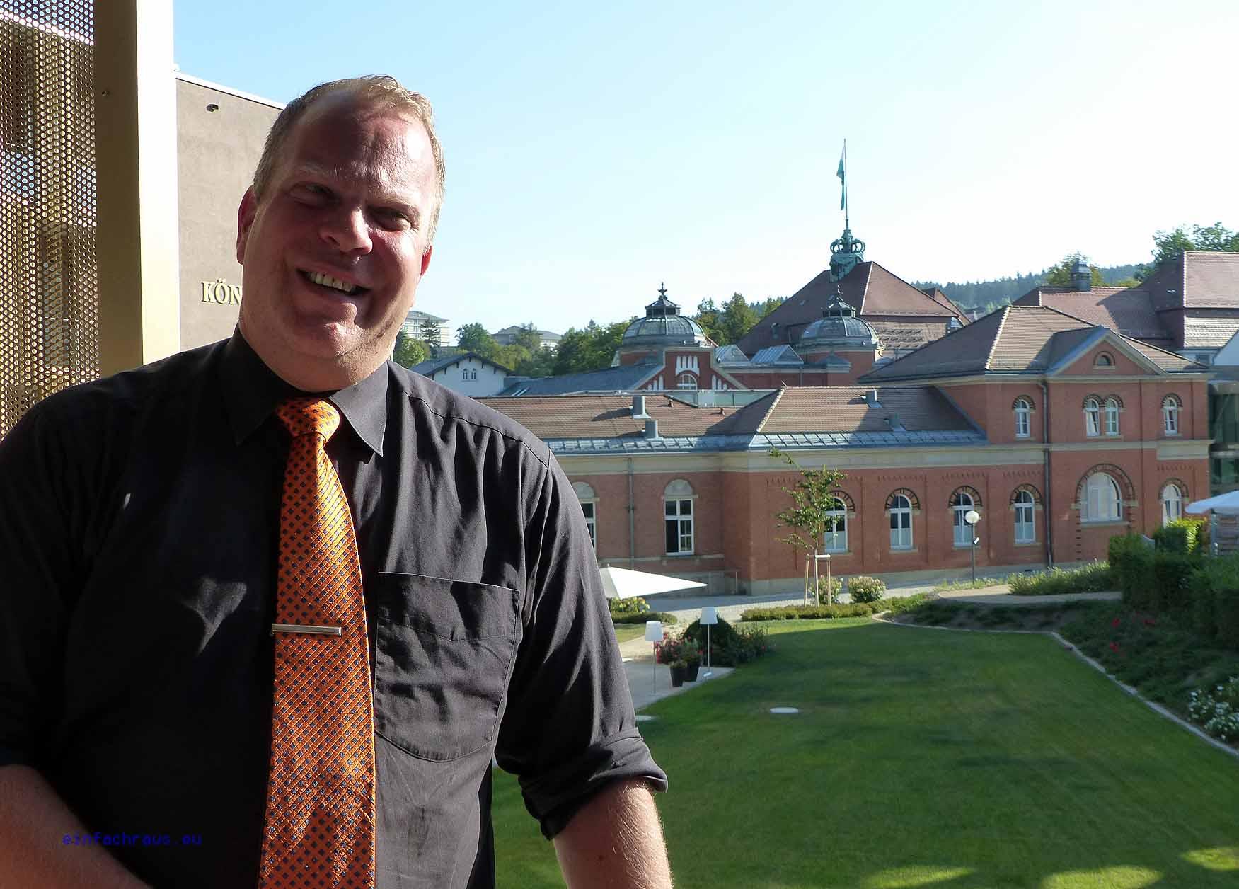 Kam schon viel in der Welt herum: Hoteldirektor Marc Cantauw