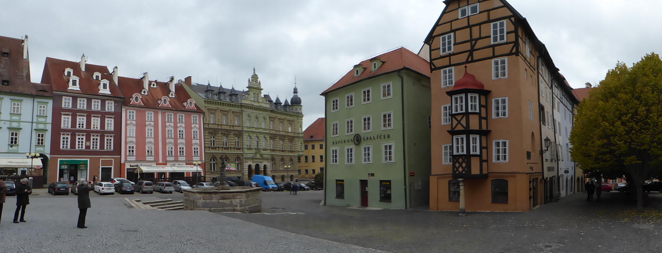Der Markplatz von Eger (Cheb), Foto: D.Weirauch