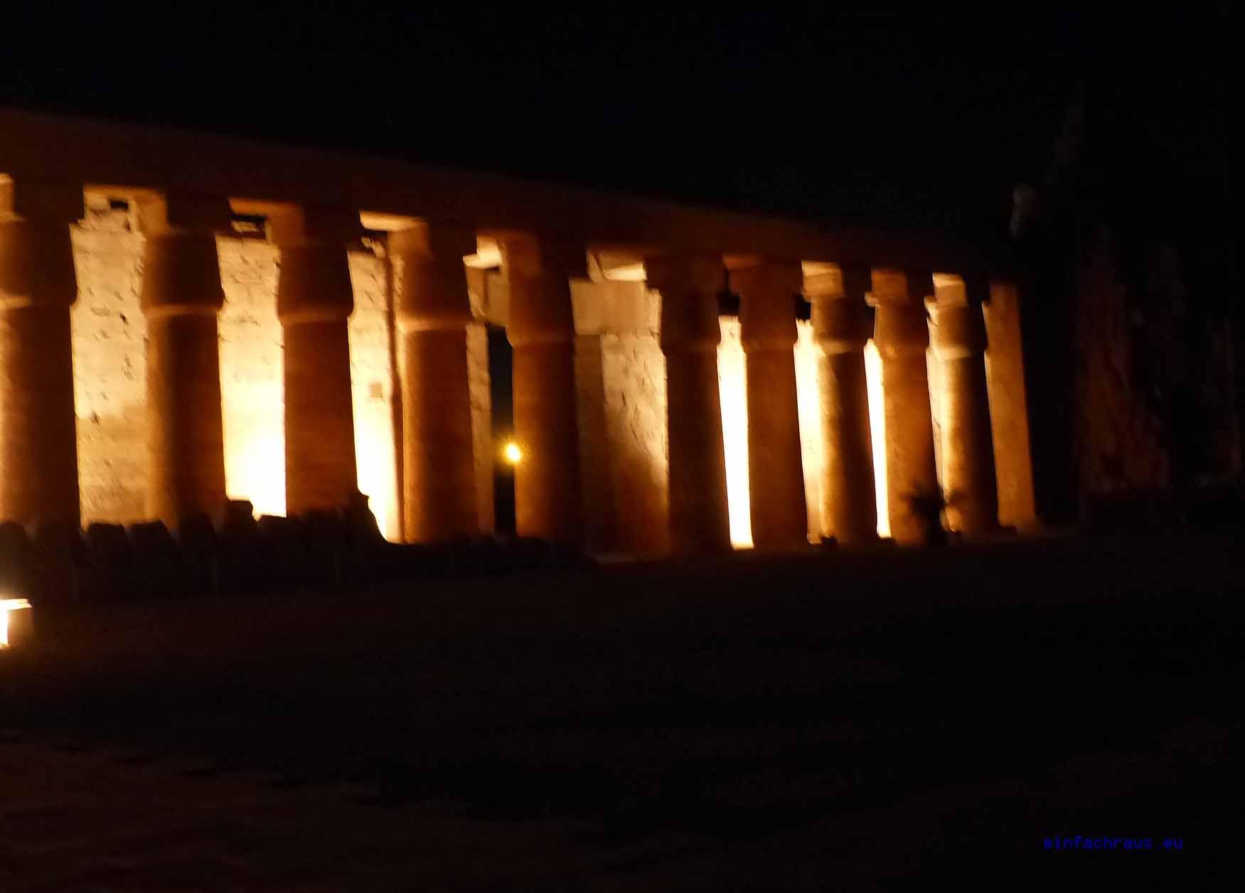Die größte Tempelanlage Ägyptens liegt nordöstlich von Luxor in Karnak, Foto: Weirauch