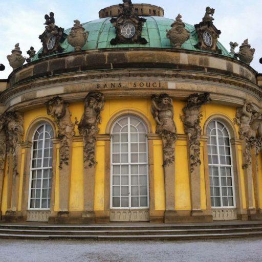 Schloss Sanssouci in Potsdam, Foto: Dieter Weirauch