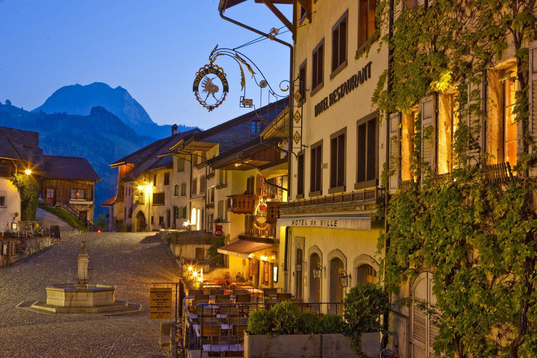 Altstadt Gryuere Foto: Fribourg Region