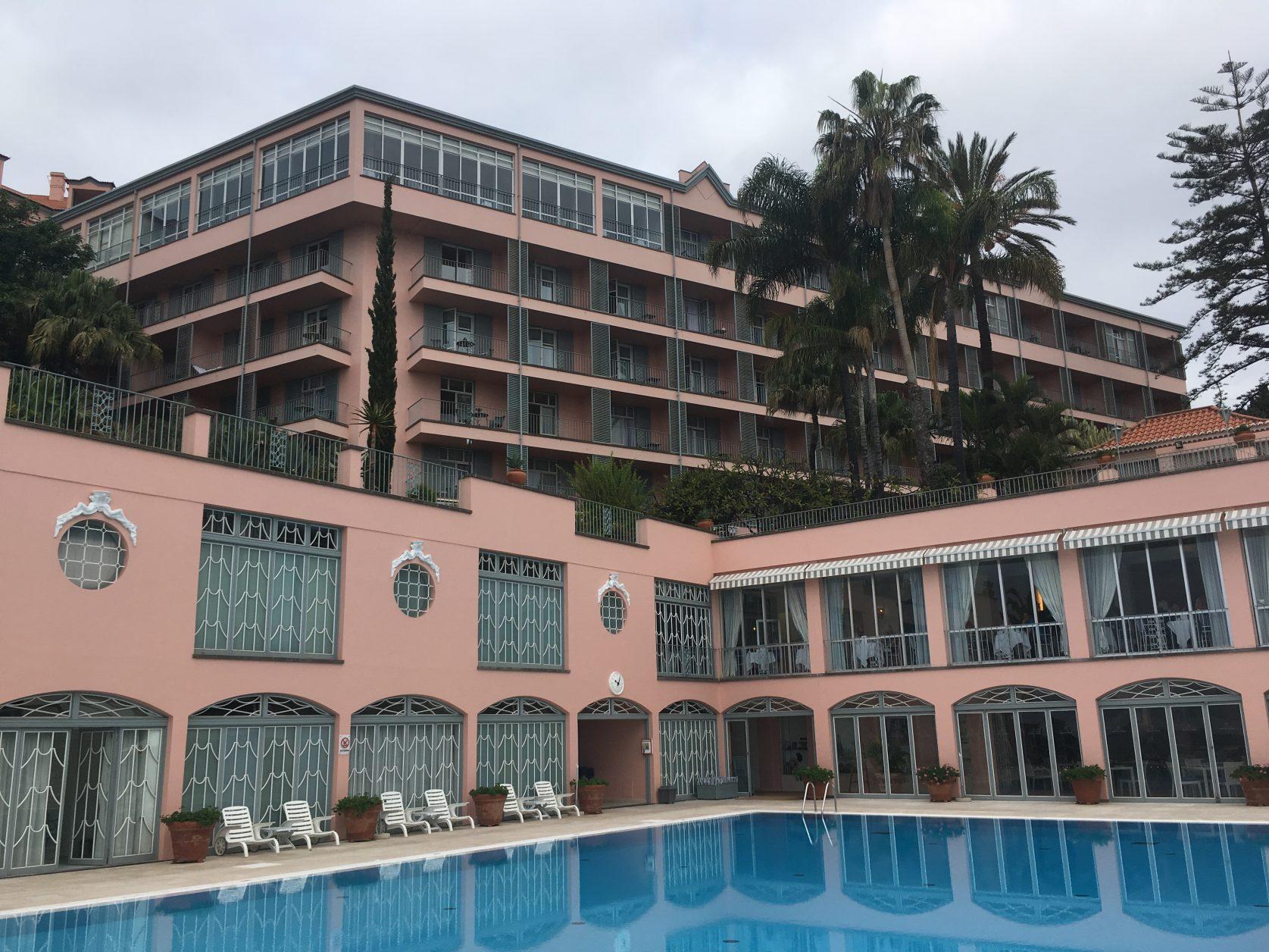 Das legendäre Reids Hotel in Funchal gehört zu den besten Hotels weltweit, Foto: D.Weirauch