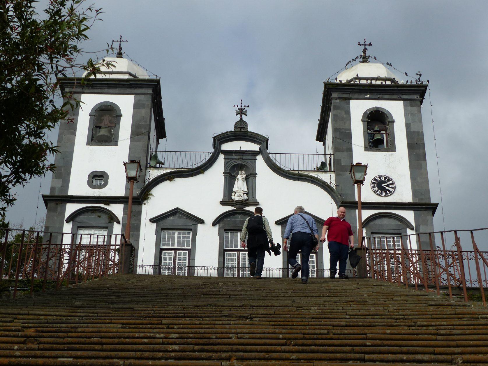 Kirche von Monte, dort wurde der letzte österreichische Kaisers Karl I., der 1922 auf Madeira verstarb, beigesetzt. Foto: D. Weirauch