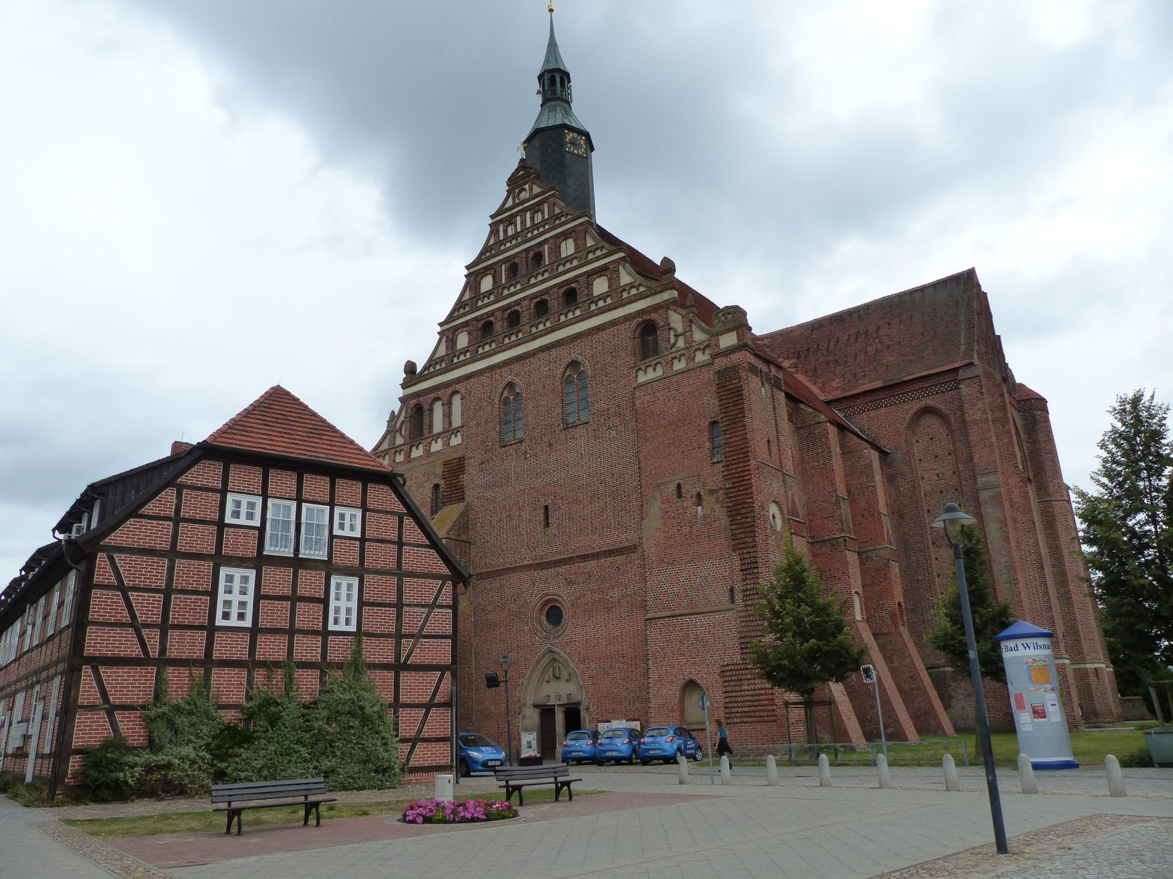 Wunderblutkirche in Bad Wilsnack, Foto: D. Weirauch