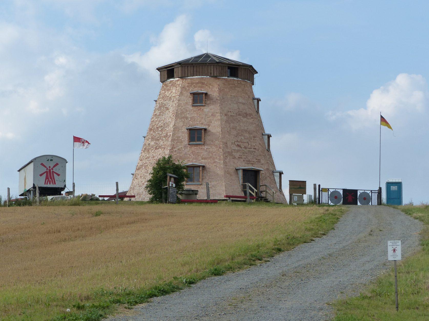 Erdholländermühle in Greiffenberg in der Uckermark, Foto: D.Weirauch