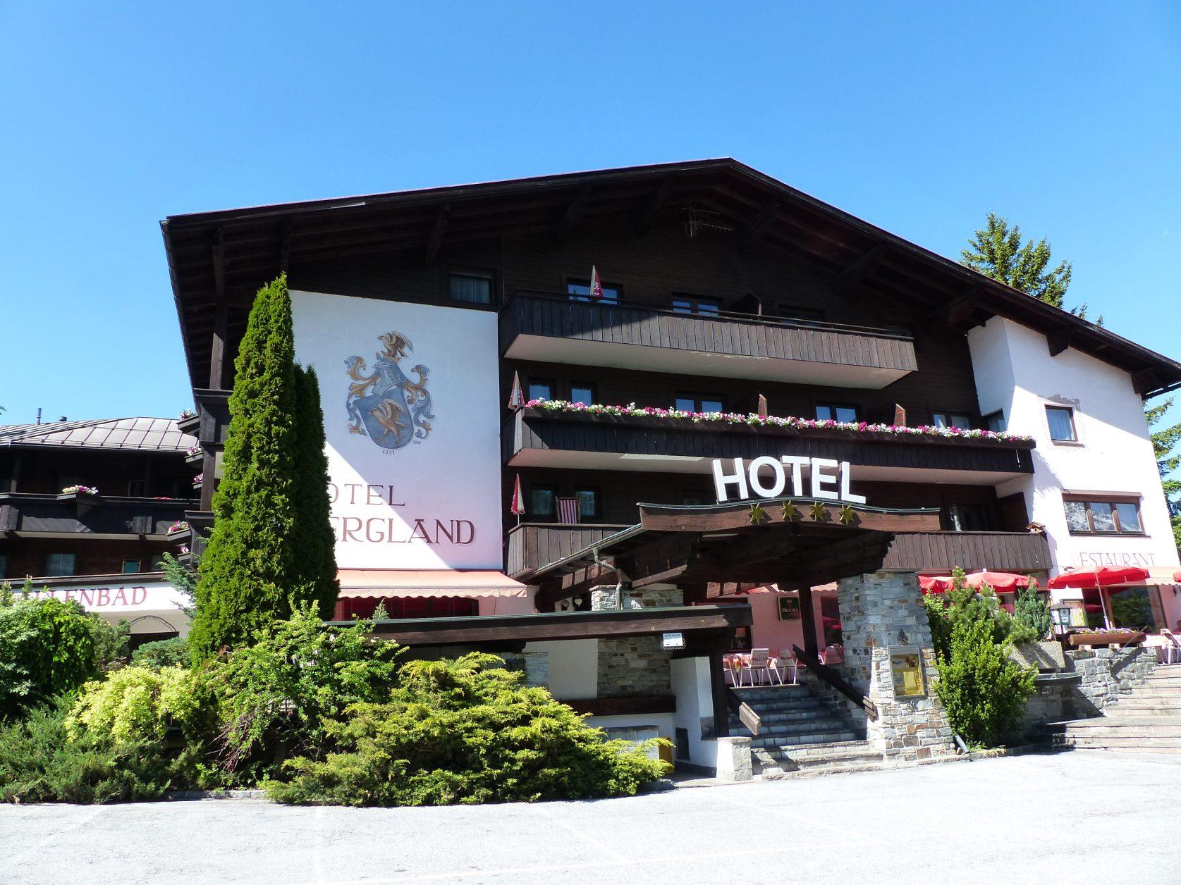 Stätte gediegener Gastlichkeit: Hotel Bergland Obsteig. Foto: D.Weirauch