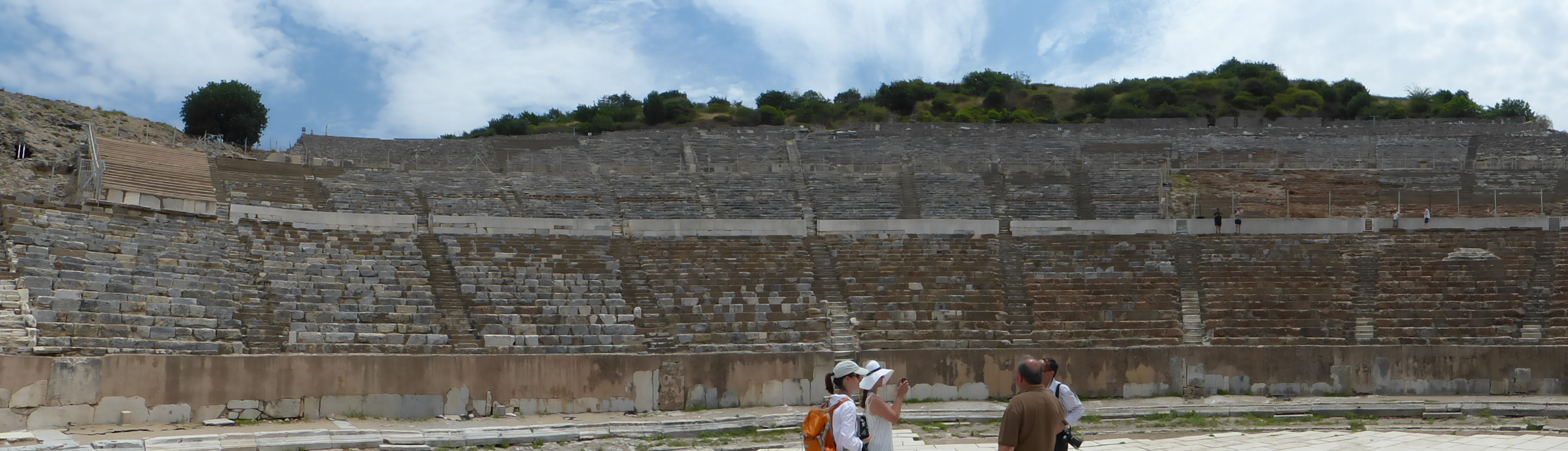 Im großen Theater von Ephesos soll der Apostel Paulus geredet haben.