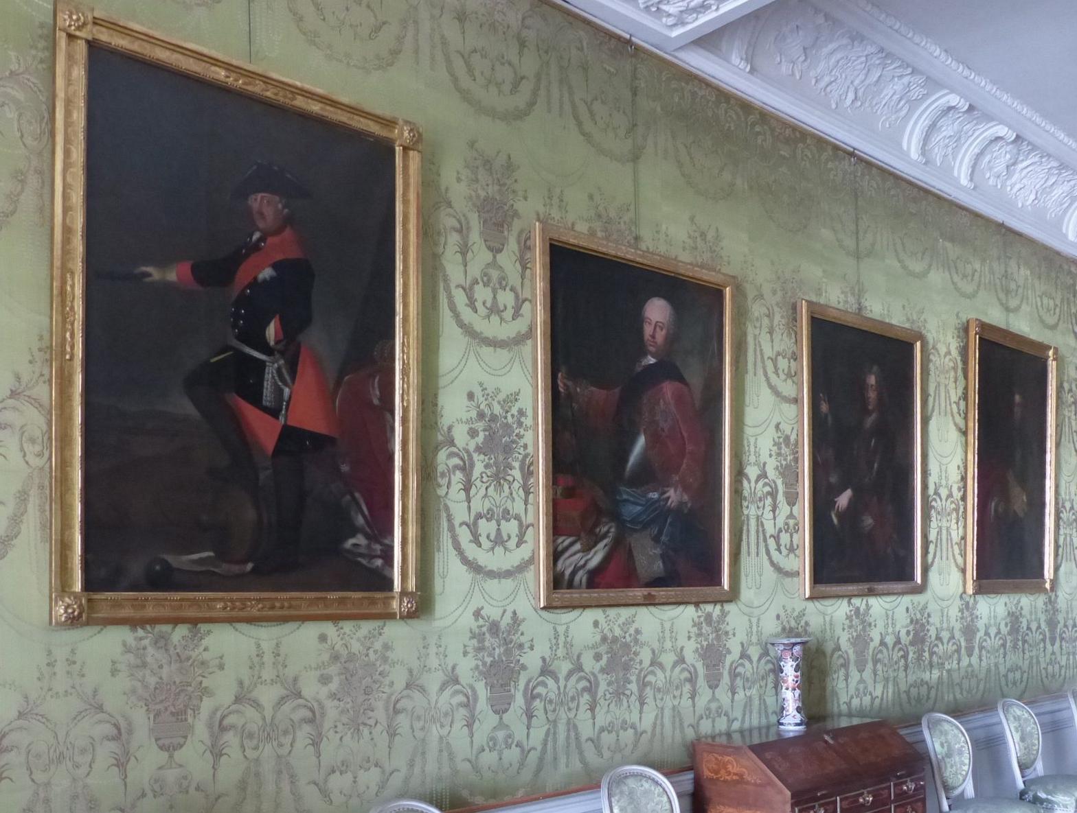 In der Galerie einen Ehrenplatz: Friedrich der Große, Foto: D.Weirauch