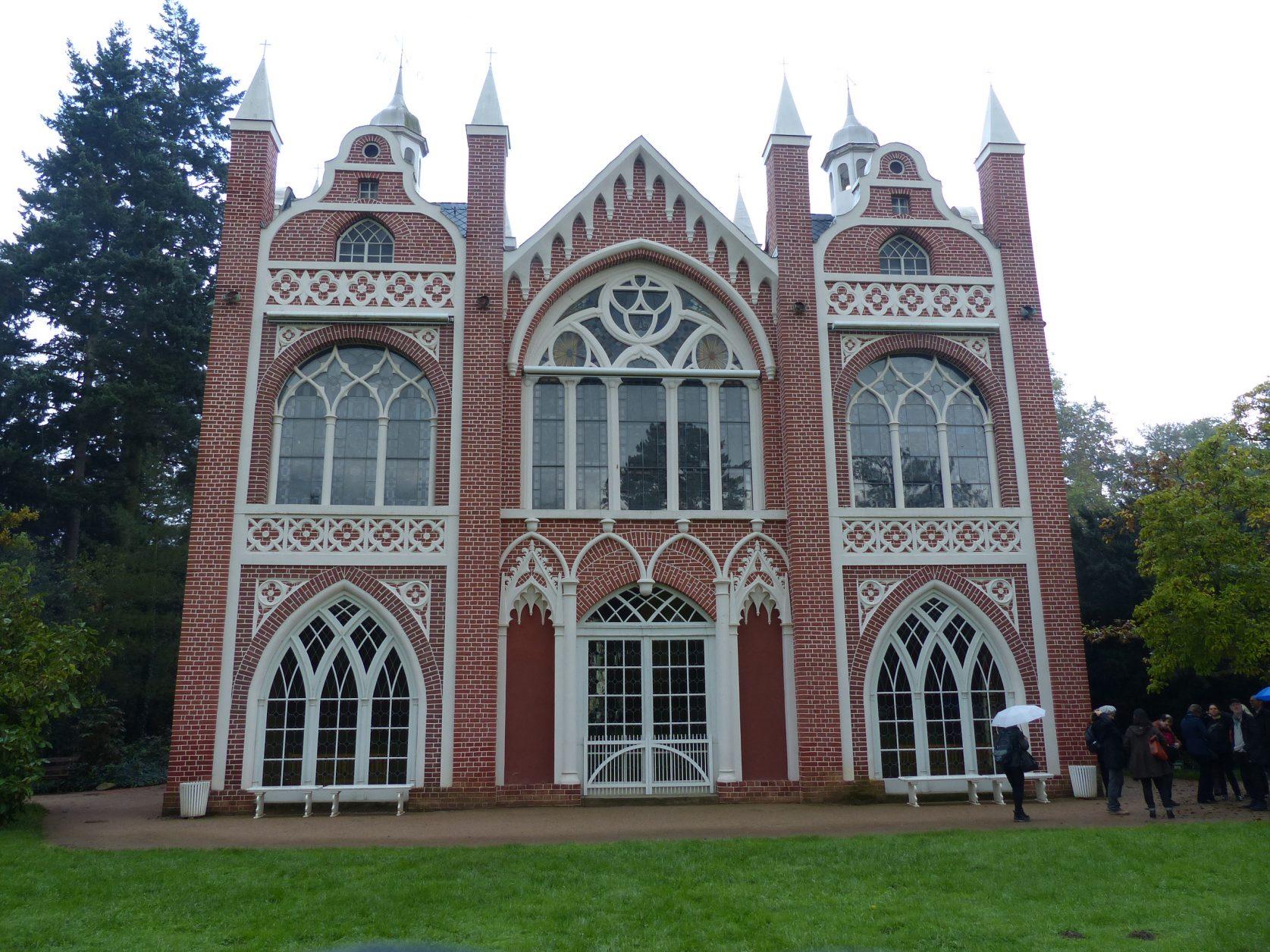 Gotisches Haus im Wörlitzer Park Foto: D.Weirauch