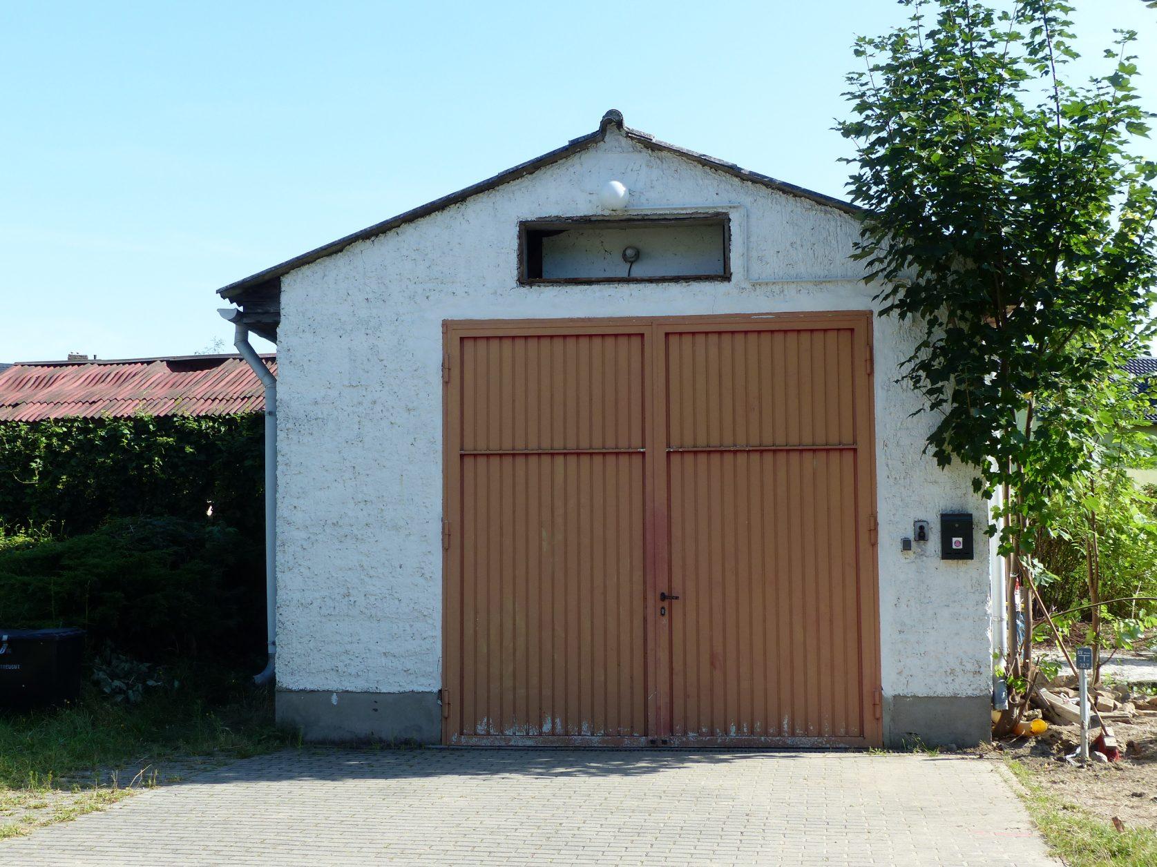 Wird nun abgerissen: altes Gerätehaus in Marquardt, Foto: D.Weirauch
