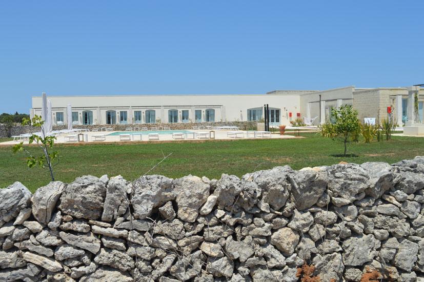 """Regionaltypisch die Gebäude des Relais """"Masseria Le Cesine"""" , Foto: CDS Hotels"""