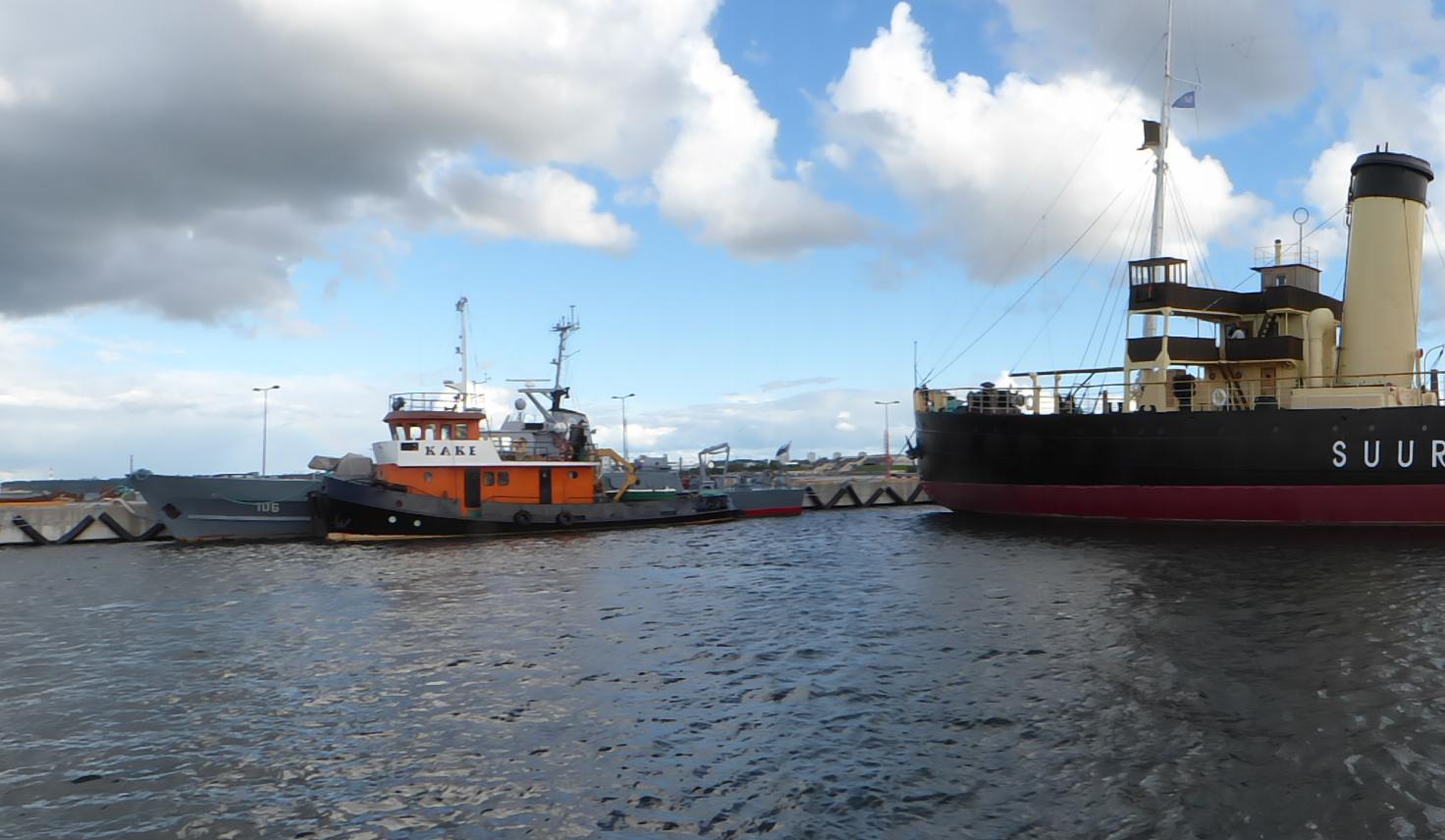 Blick in den Museumshafen von Tallin, Foto: D.Weirauch