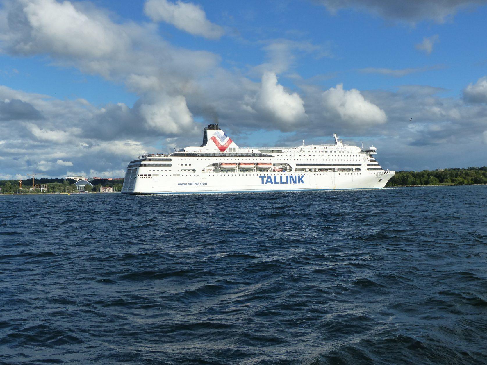 Tallink-Fährschiffe Richtung Ostsee, Foto: D.Weirauch