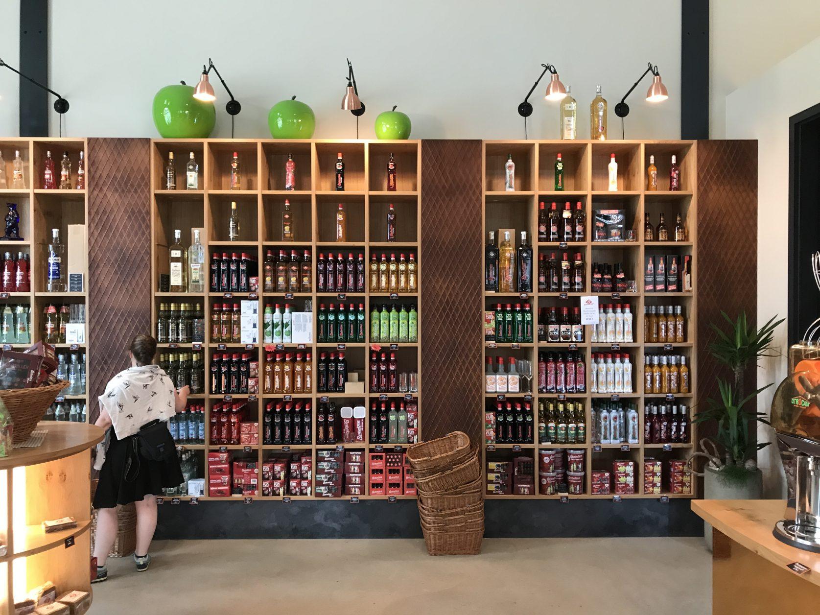 Blick in den Berentzen-Shop-® Thomas Rentschler