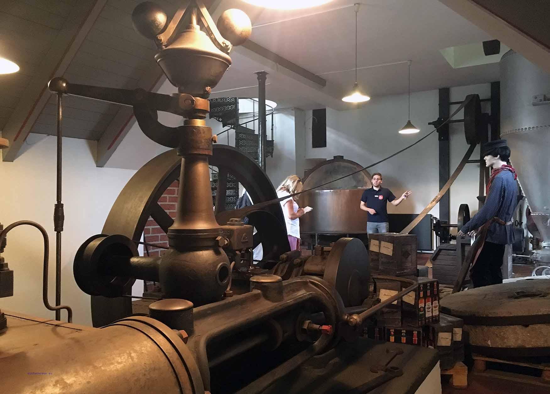 Die Dampfmaschine im Brennereimuseum von Berentzen in Haselünne, Foto: D.Weirauch