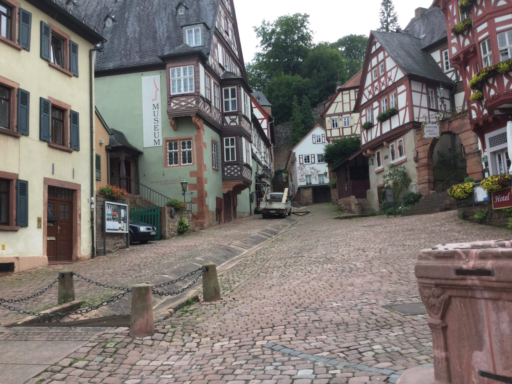 Das berühmte Schnatterloch in Miltenberg