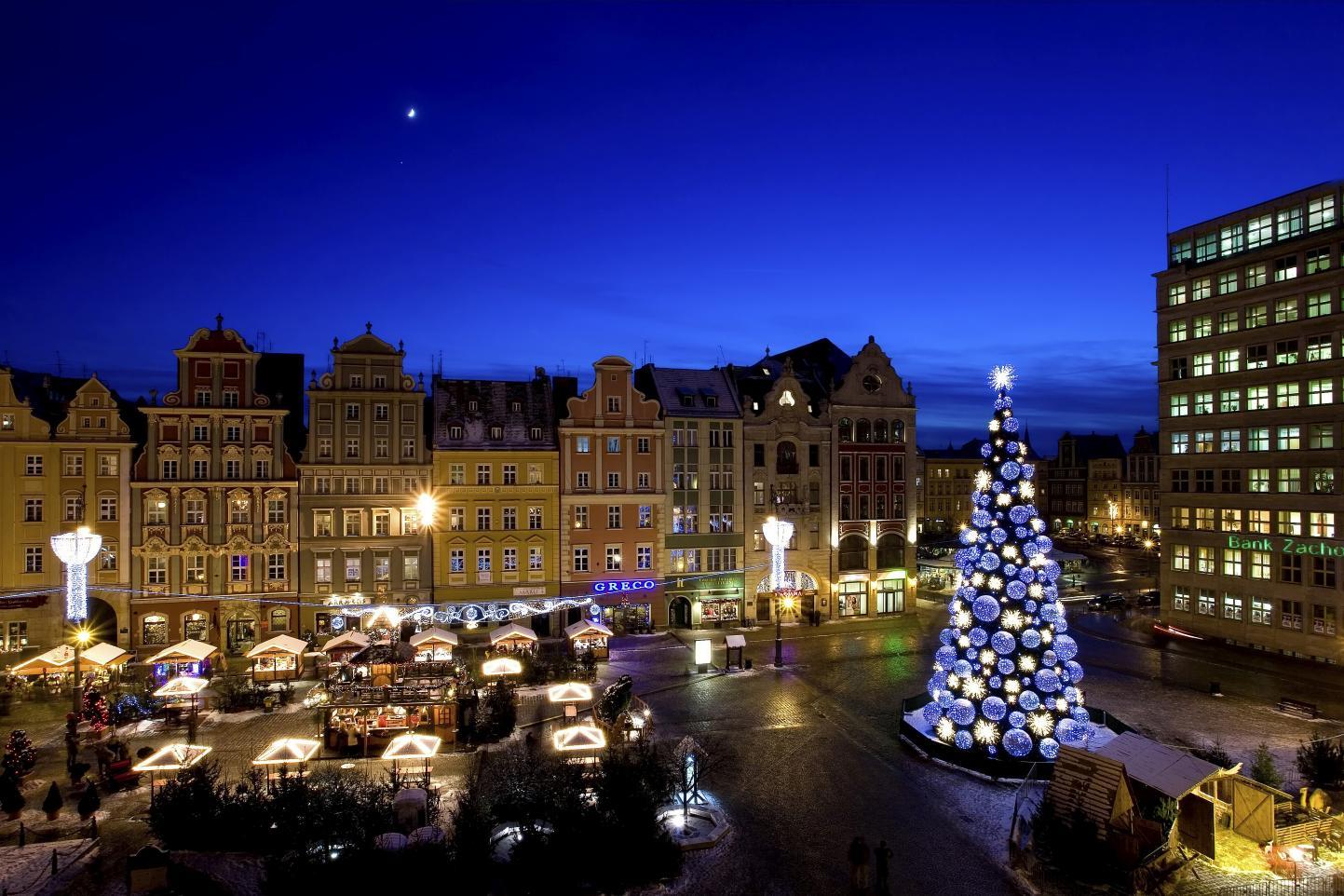 Weihnachtsmarkt in Breslau. Foto: Krzysztof Szymoniak/www.wroclaw.pl