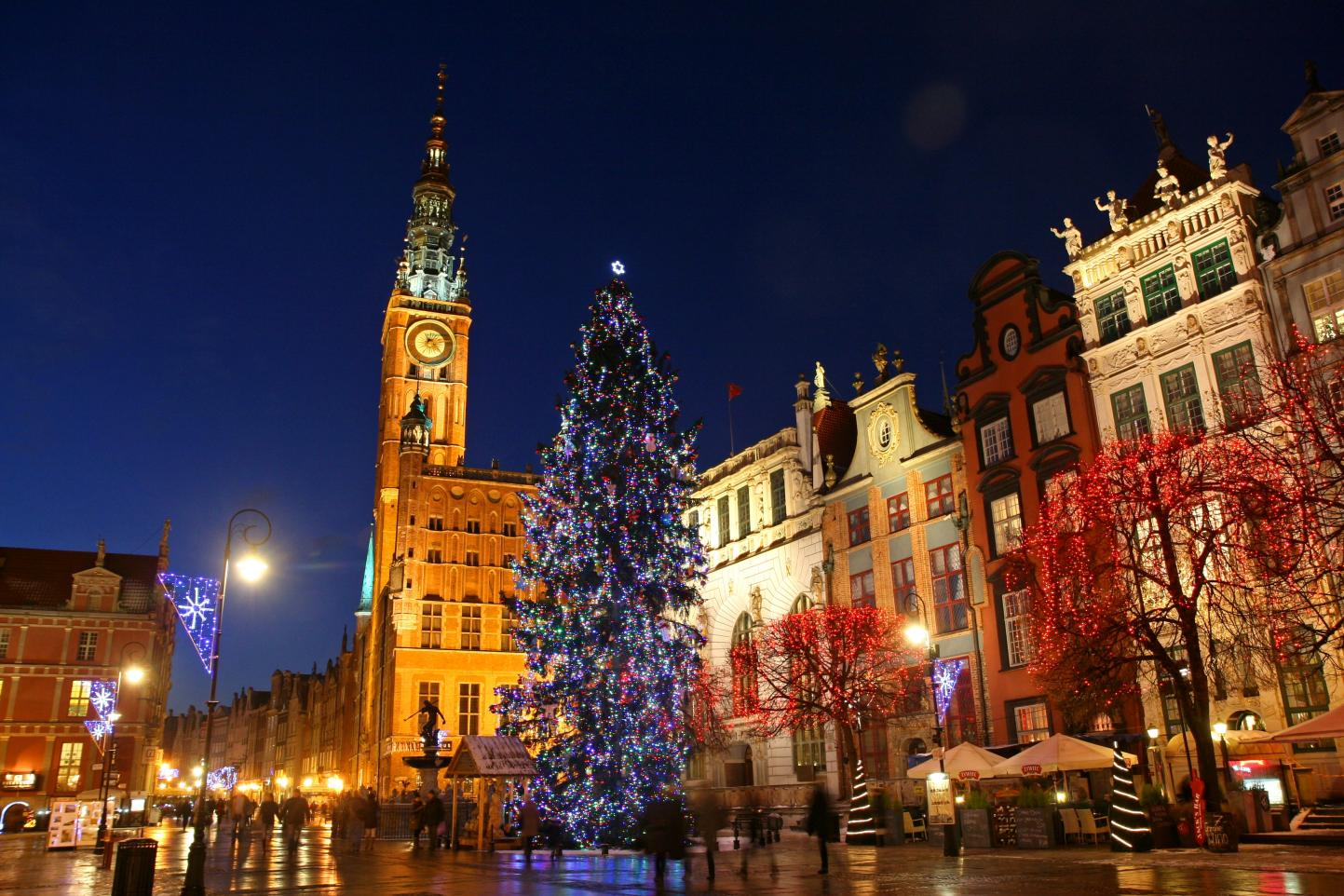 Weihnachtsmarkt in Danzig. Foto: Maciej Nicgorski/www.gdansk.pl