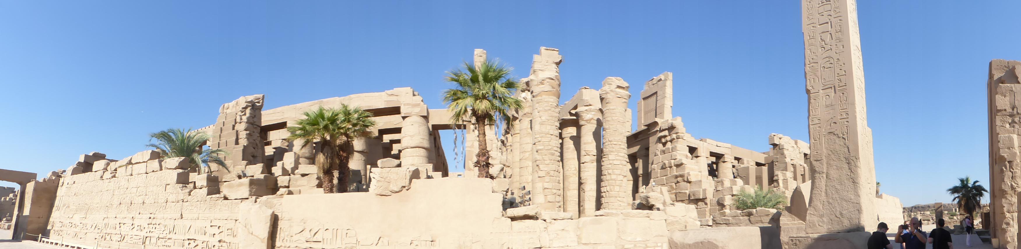 Der berühmte Tempel von Luxor: Foto: D.Weirauch