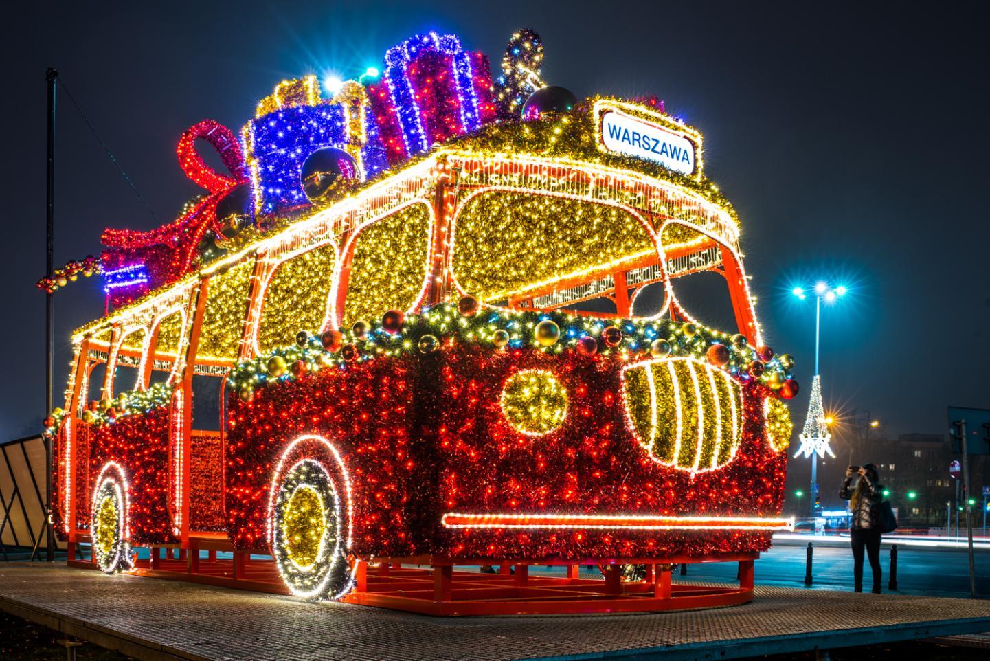Weihnachtliches Warschau (Foto von 2017). Foto: it Warszawa / www.warsawtour.pl