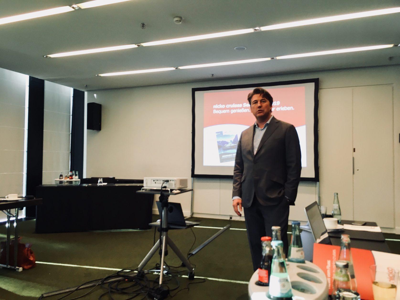 Geschäftsführer Guido Laukamp von nicko cruieses, Foto: Weirauch