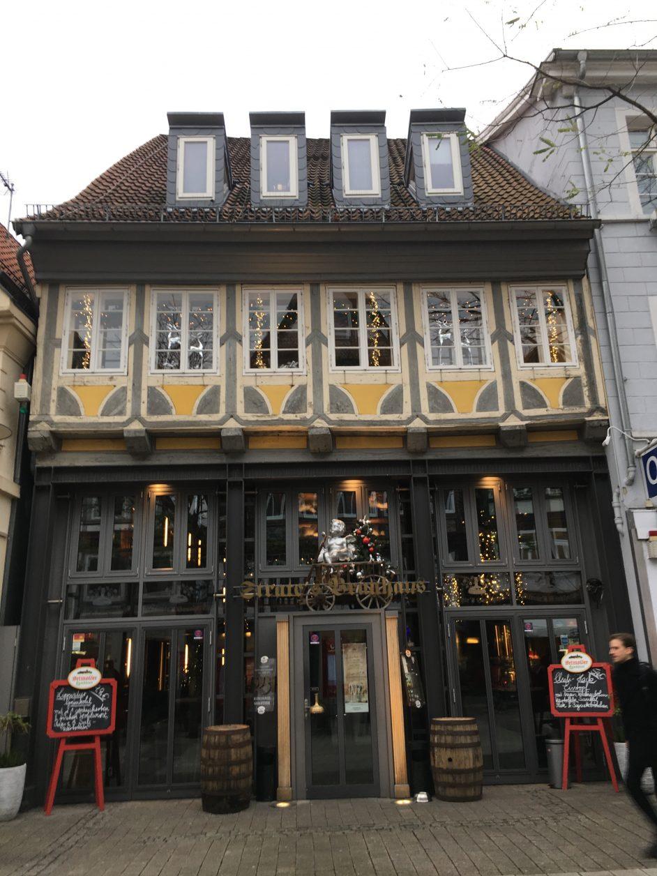 Strates Brauhaus in der Innenstadt von Detmold, Foto: Weirauch