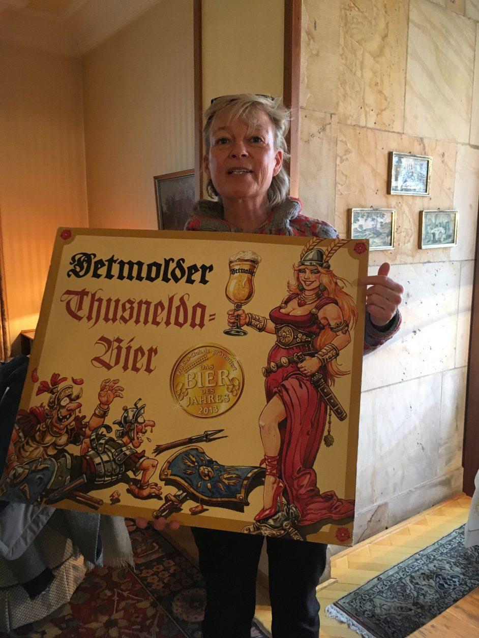 Friederike Strate ist eine leidenschaftliche Bierbrauerin Foto: D.Weirauch