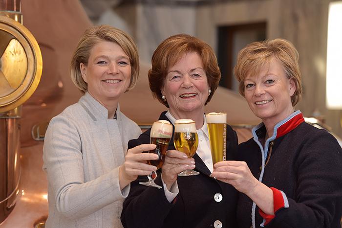 Simone, Renate und Friederike Strate, Foto: Brauerei Strate