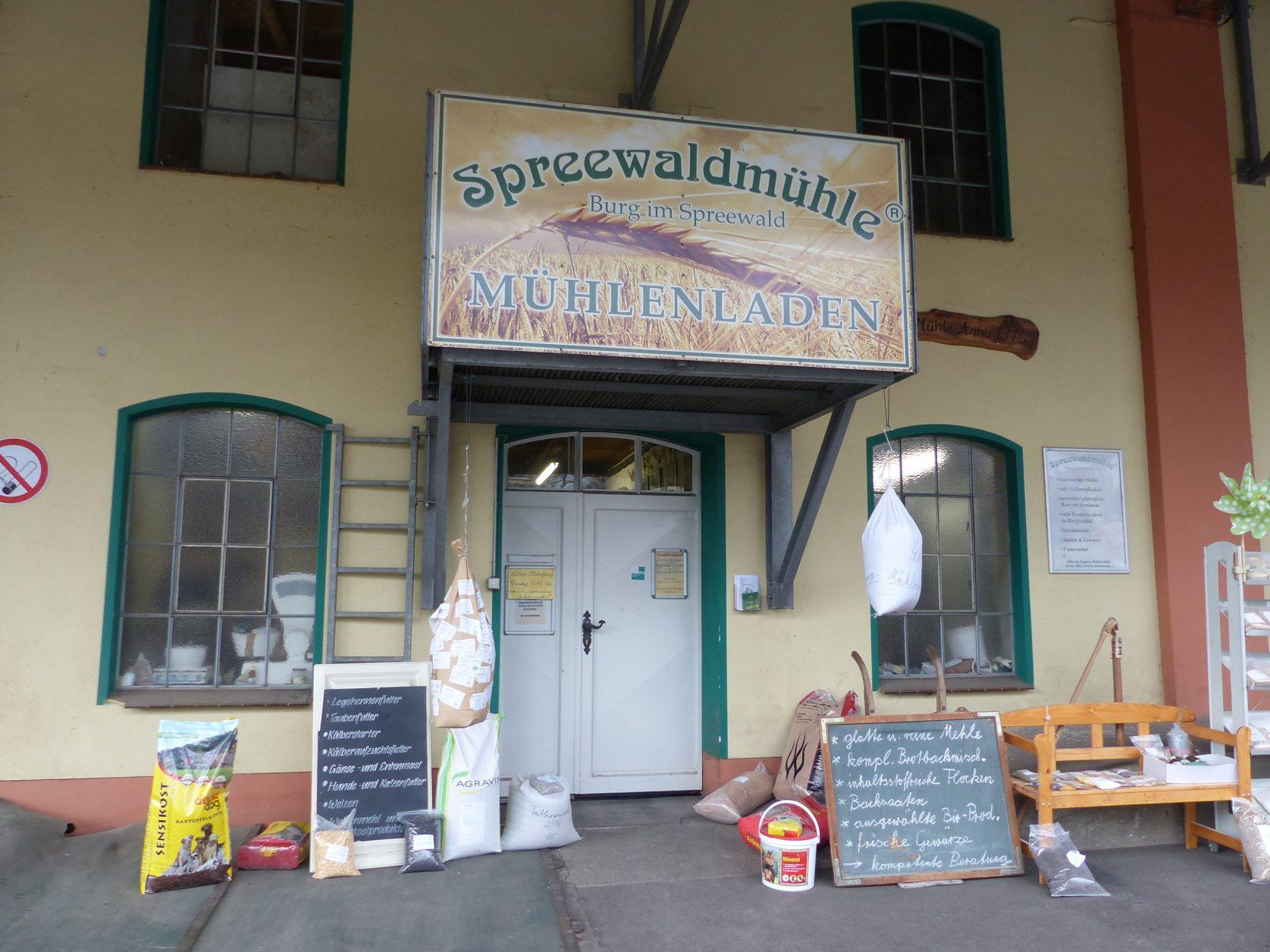 Kann immer Dienstags besichtigt werden: Spreewaldmühle in Burg, Foto: Weirauch