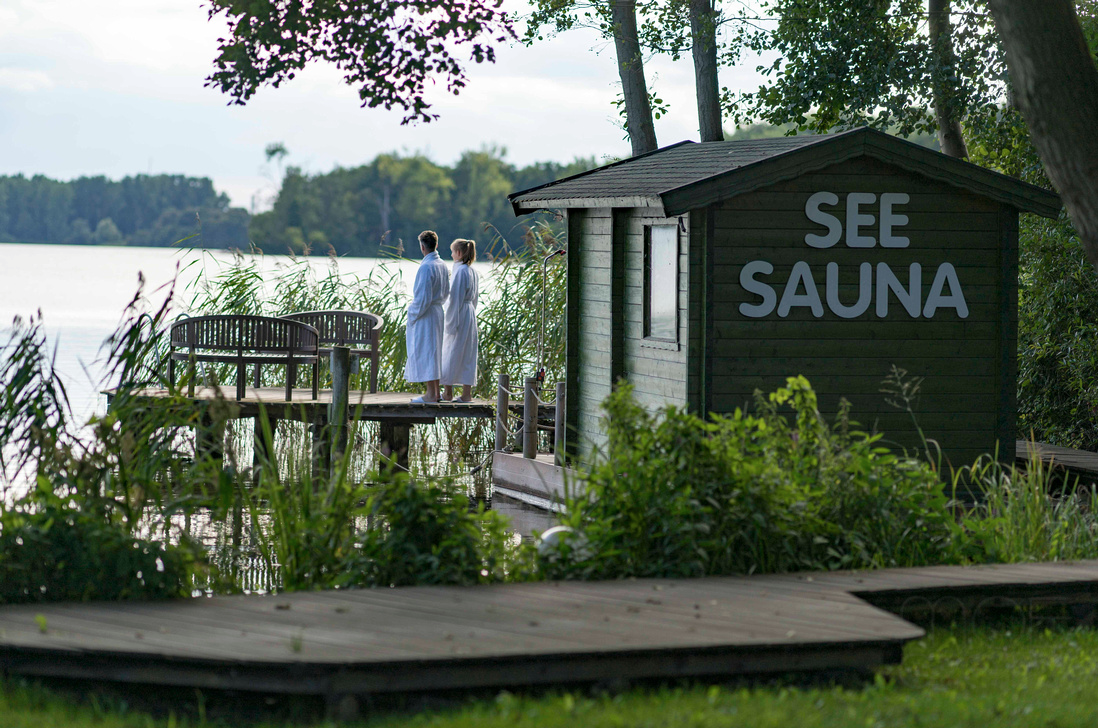 Beliebt ist die Seesauna, Foto: Raphael Hotels