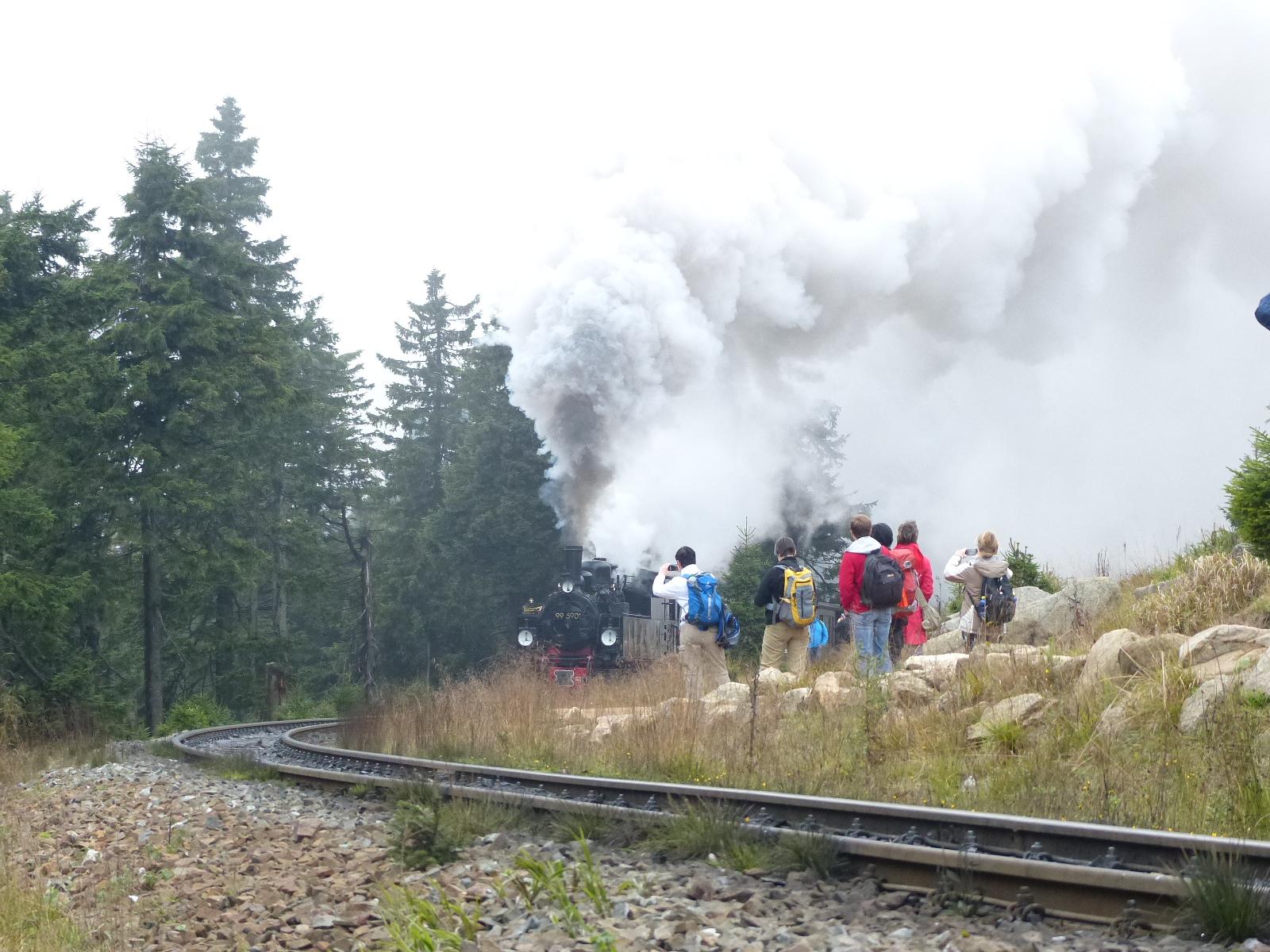 Brockenbahn: Mit Dampf im Kessel auf schmaler Spur - EINFACH RAUS