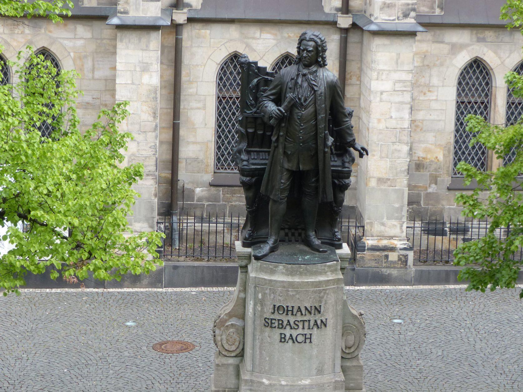 Denkmal für den Thomaskantor Foto: Weirauch