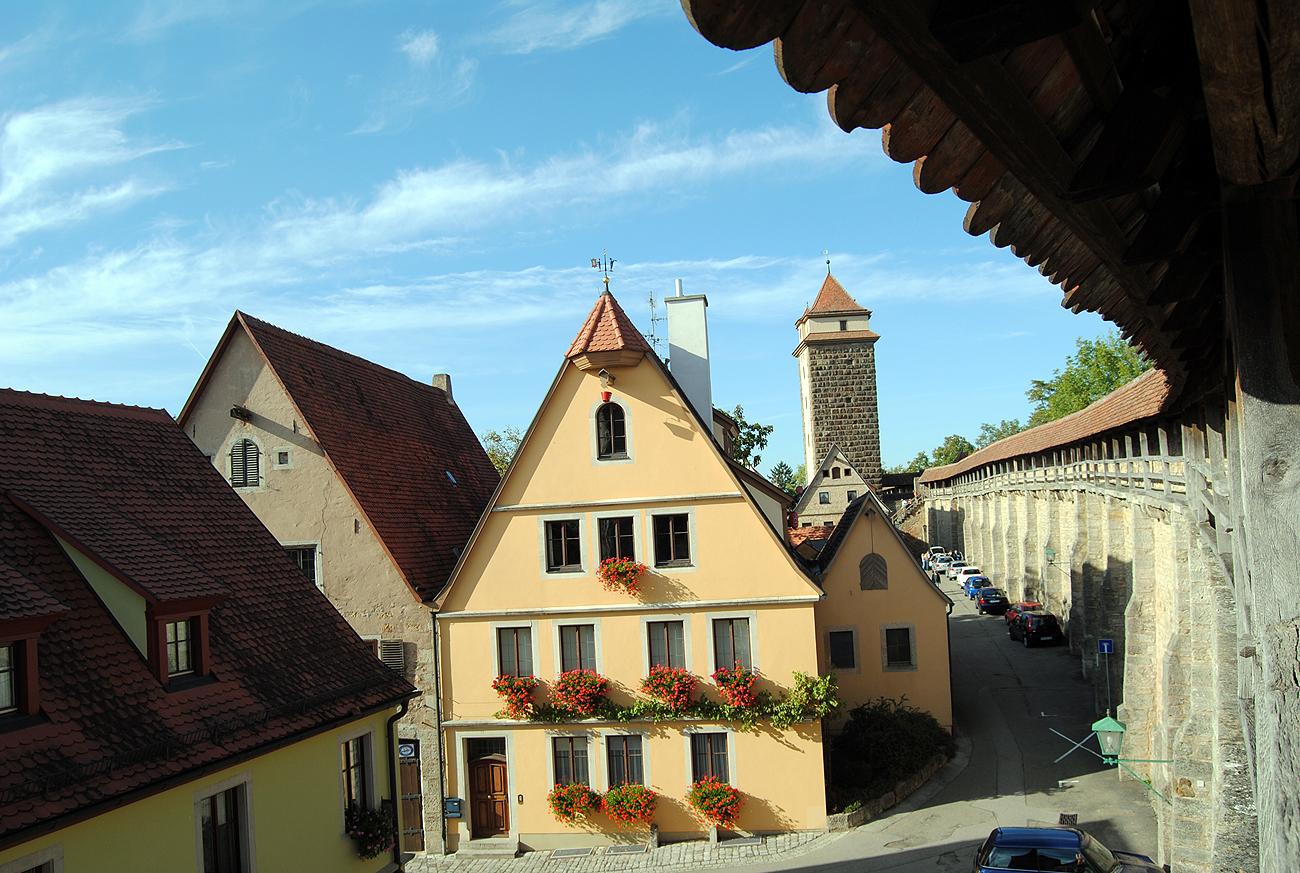 Traumhafte Kulisse für Theater: Rothenburg o.d.T Foto: D.Weirauch