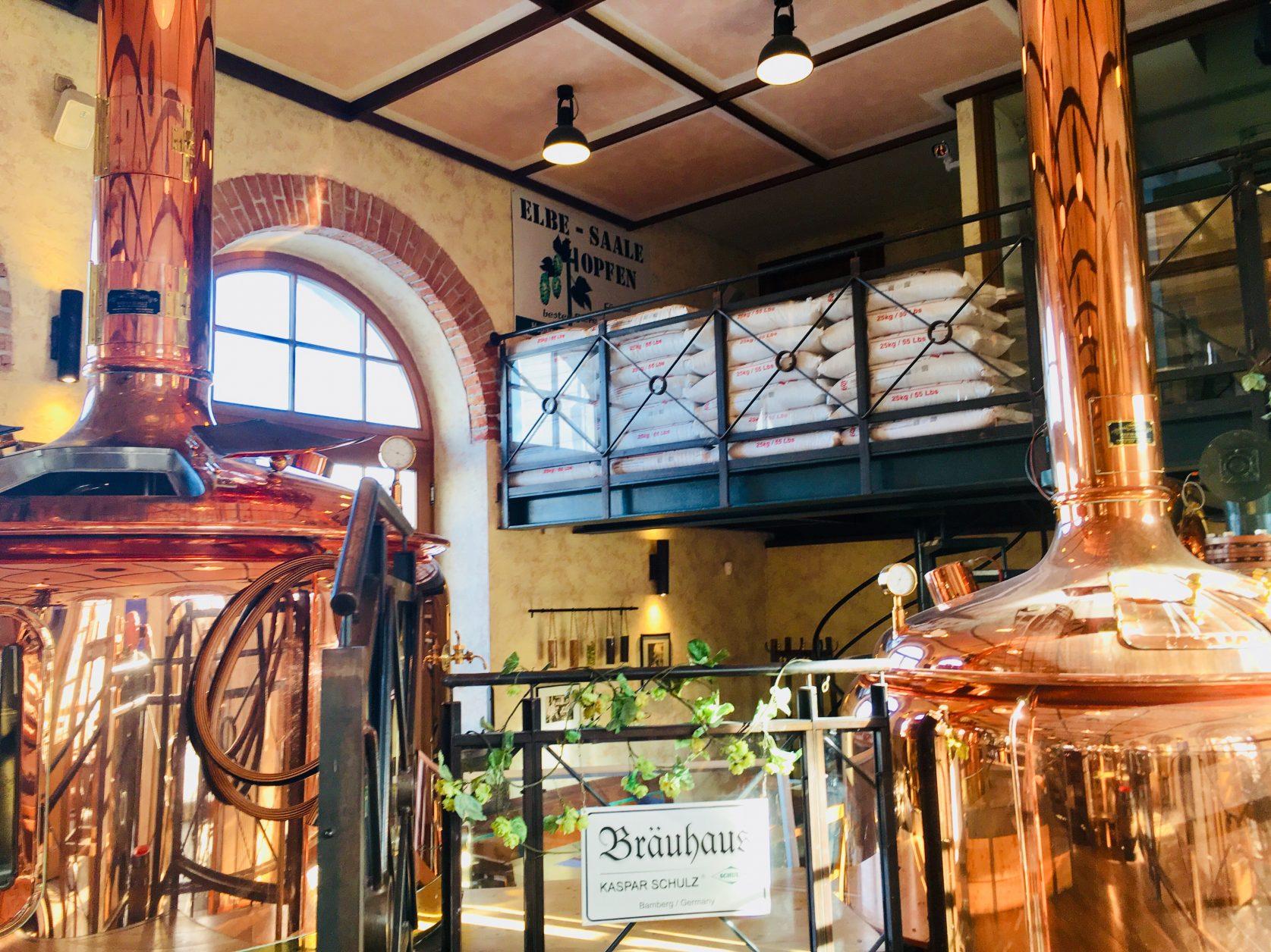 Bräuhaus im Bayerischen Bahnhof in Leipzig Foto: Weirauch