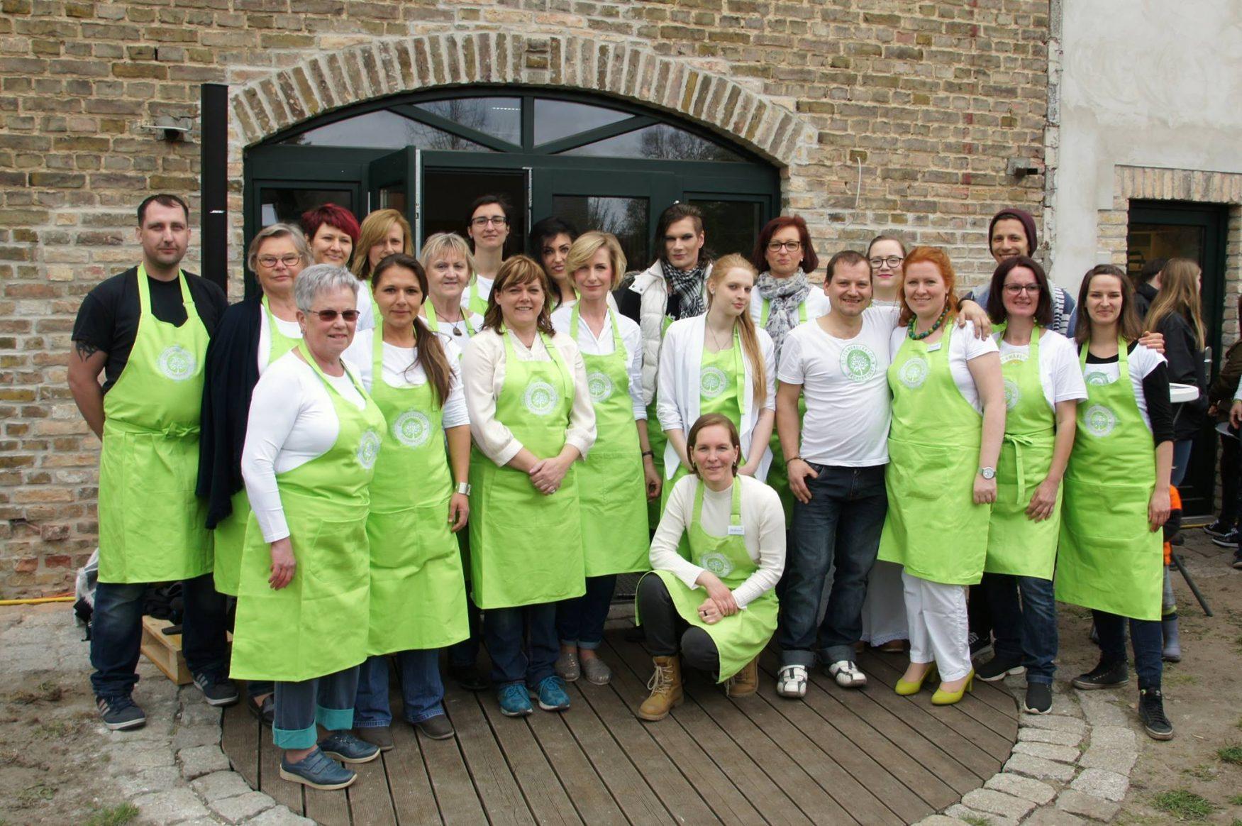 Das Team von SauberKunst Foto: Sauberkunst