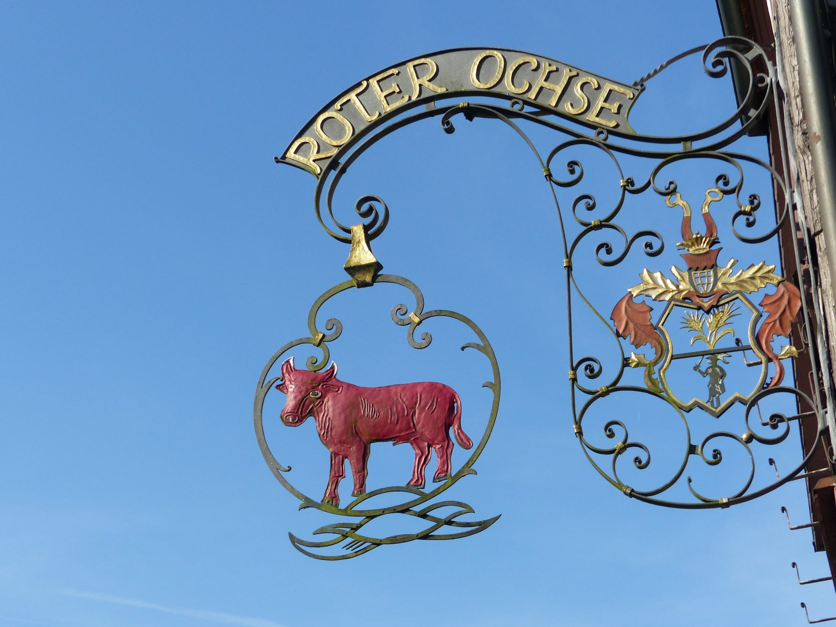 """Im Landgasthof """"Roter Ochse"""" bei Familie Franz gibt es die besten Schäufele"""