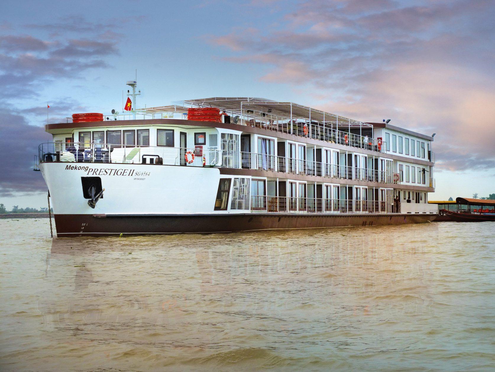 Die MS MEKONGPRESTIGE II Foto: nicko cruises