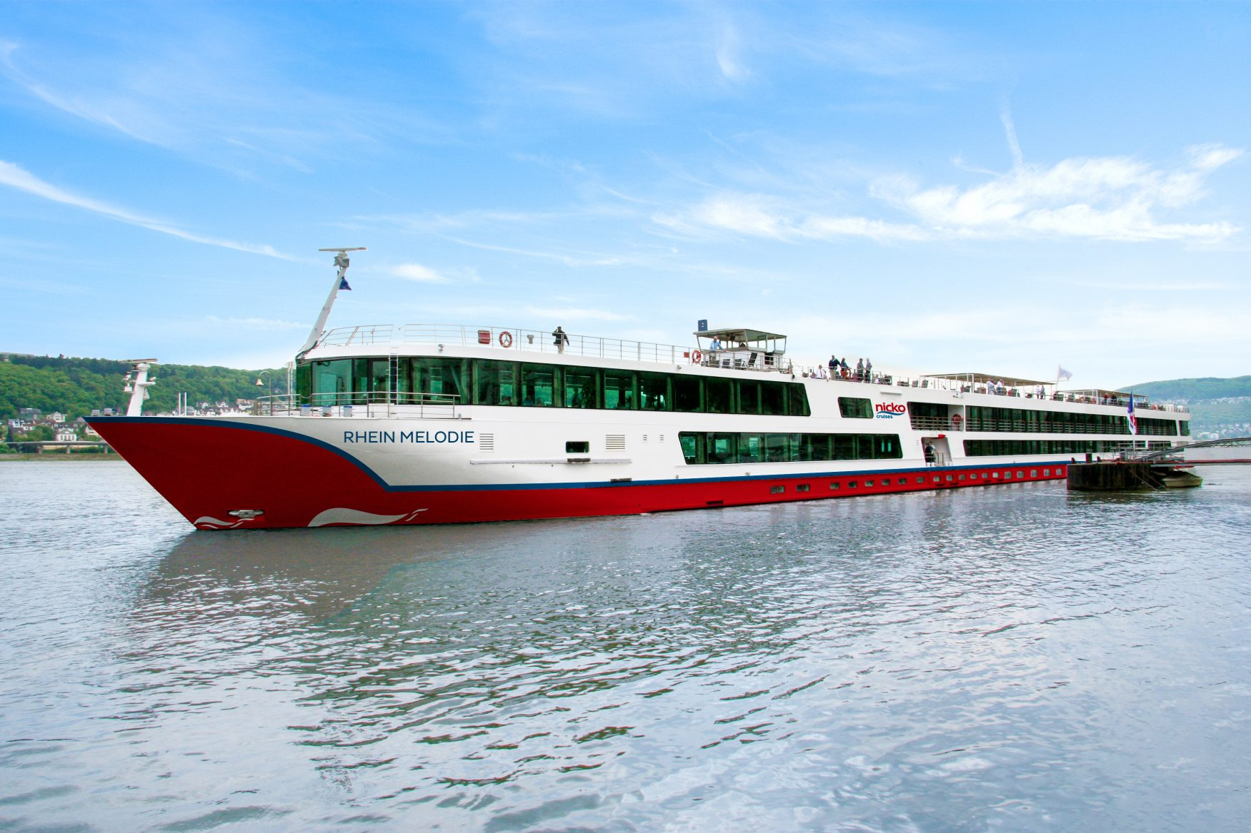 Der Kreuzfahrer auf dem Rhein: RHEIN MELODIE Foto: nicko cruises