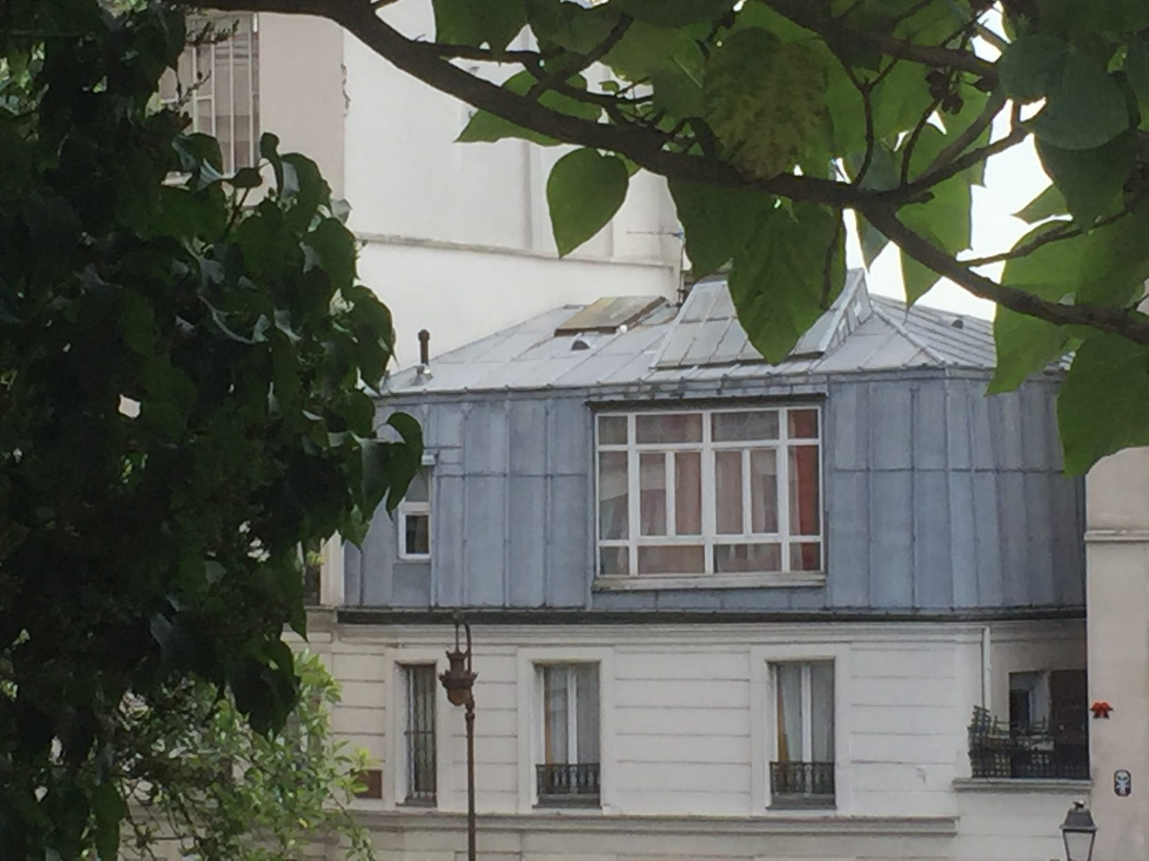 Die Stadtführerin zeigte uns auch das Atelier von Picasso während seiner Pariser Zeit. Foto K.Weirauch