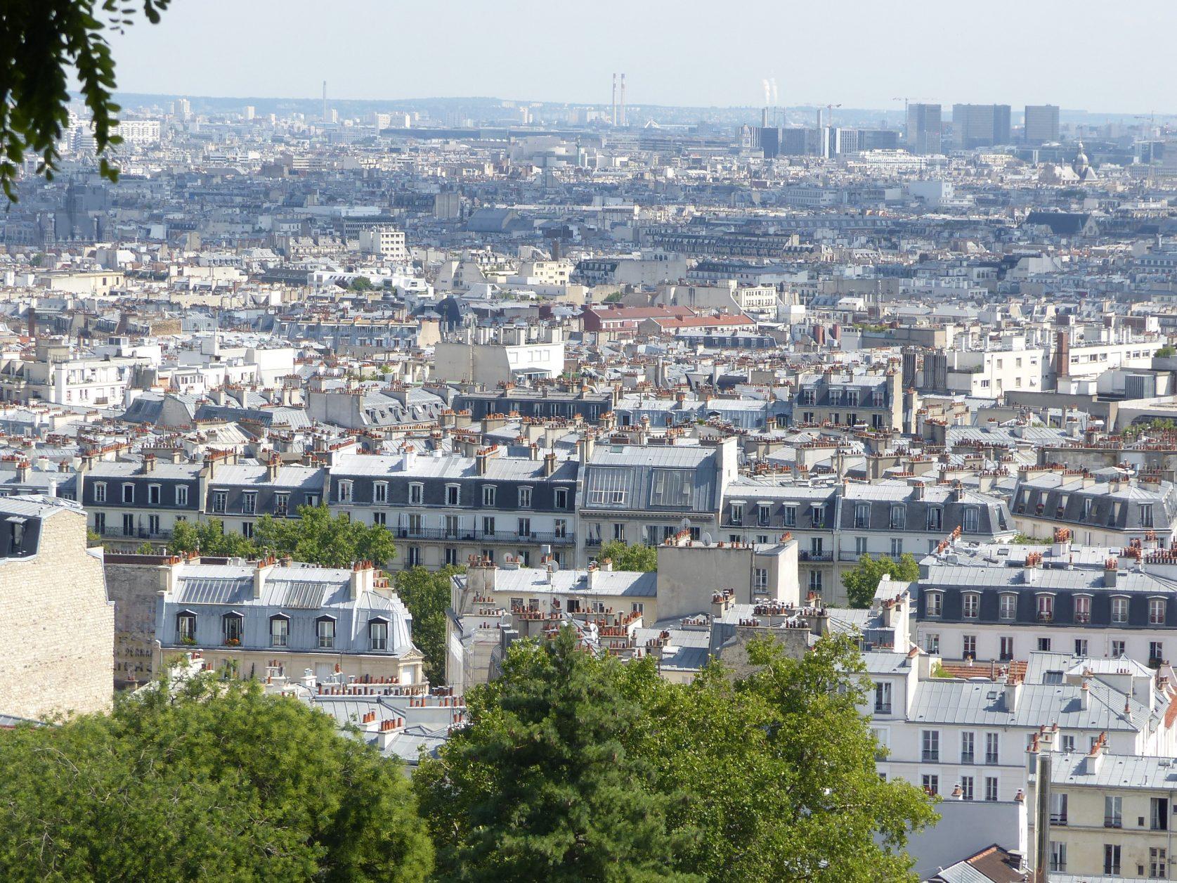 Von Sacre Coeur aus hat man einen tollen Blick über Paris Foto: Weirauch