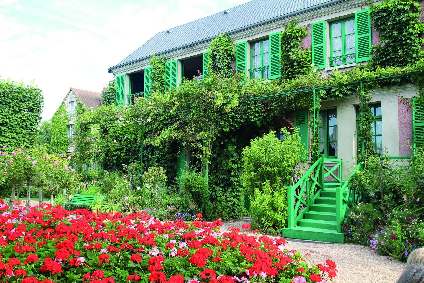 Seine-Giverny-Monethaus