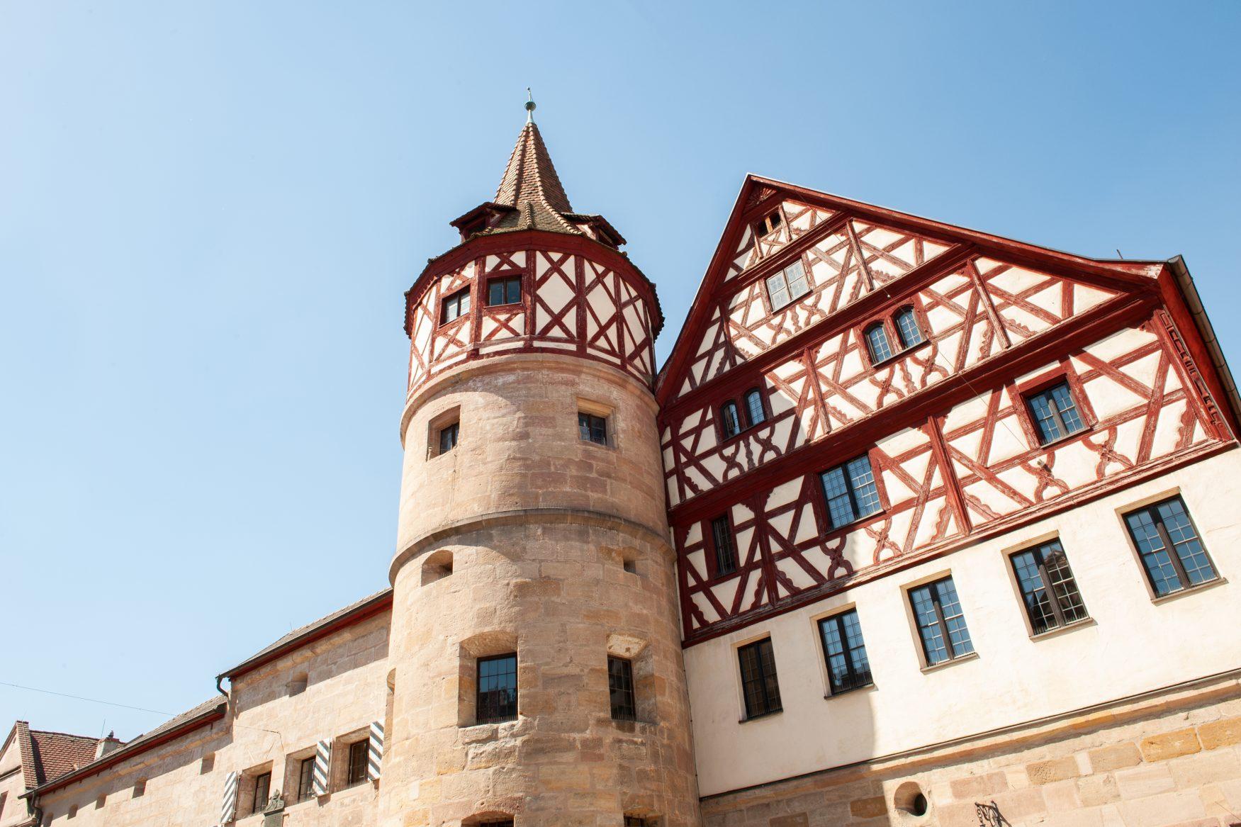 Blick auf Schloss Ratibor in Roth, Foto: Stadt Roth - Tourist-Information